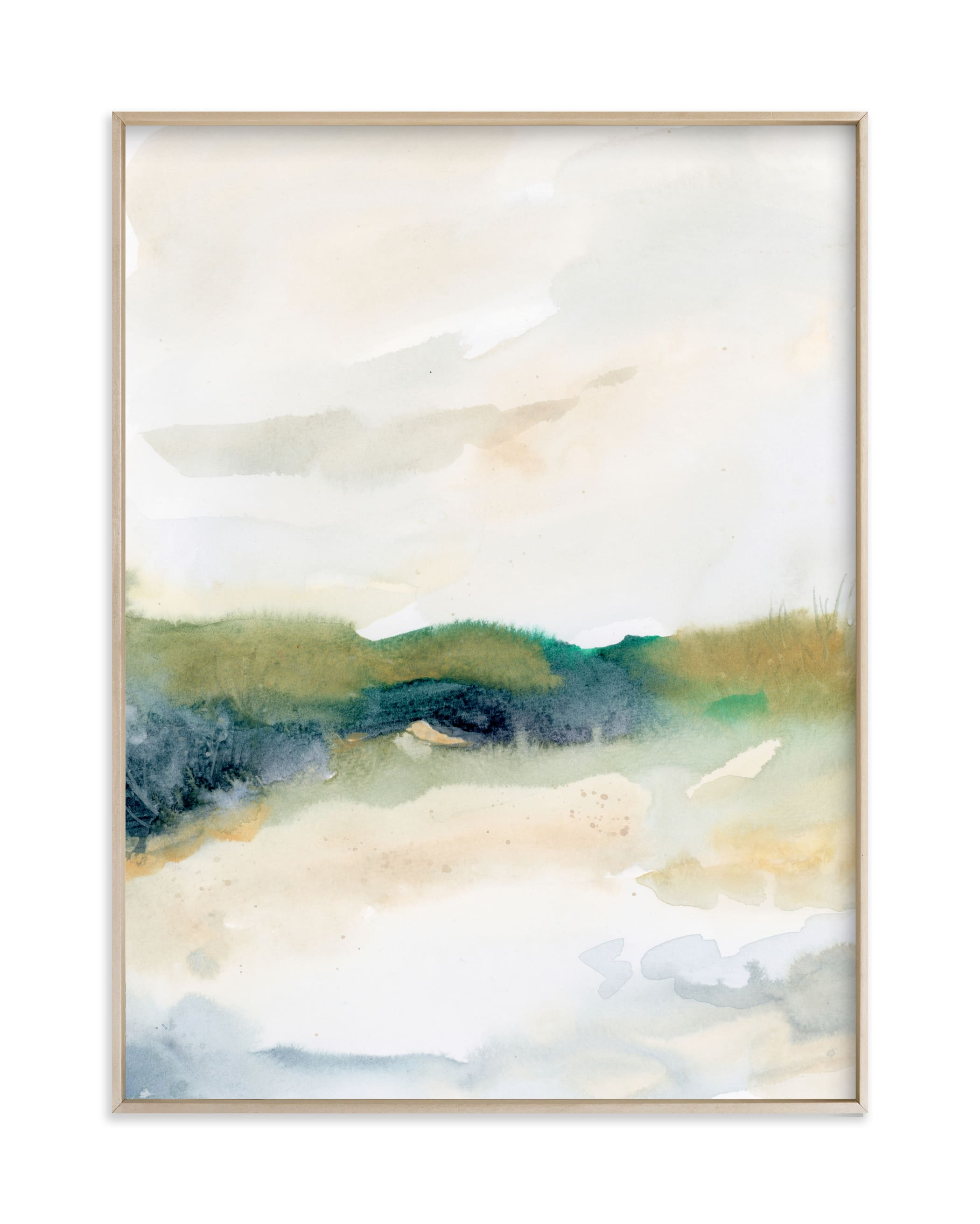 """""""Sea Mood I"""" by Lindsay Megahed in beautiful frame options and a variety of sizes."""
