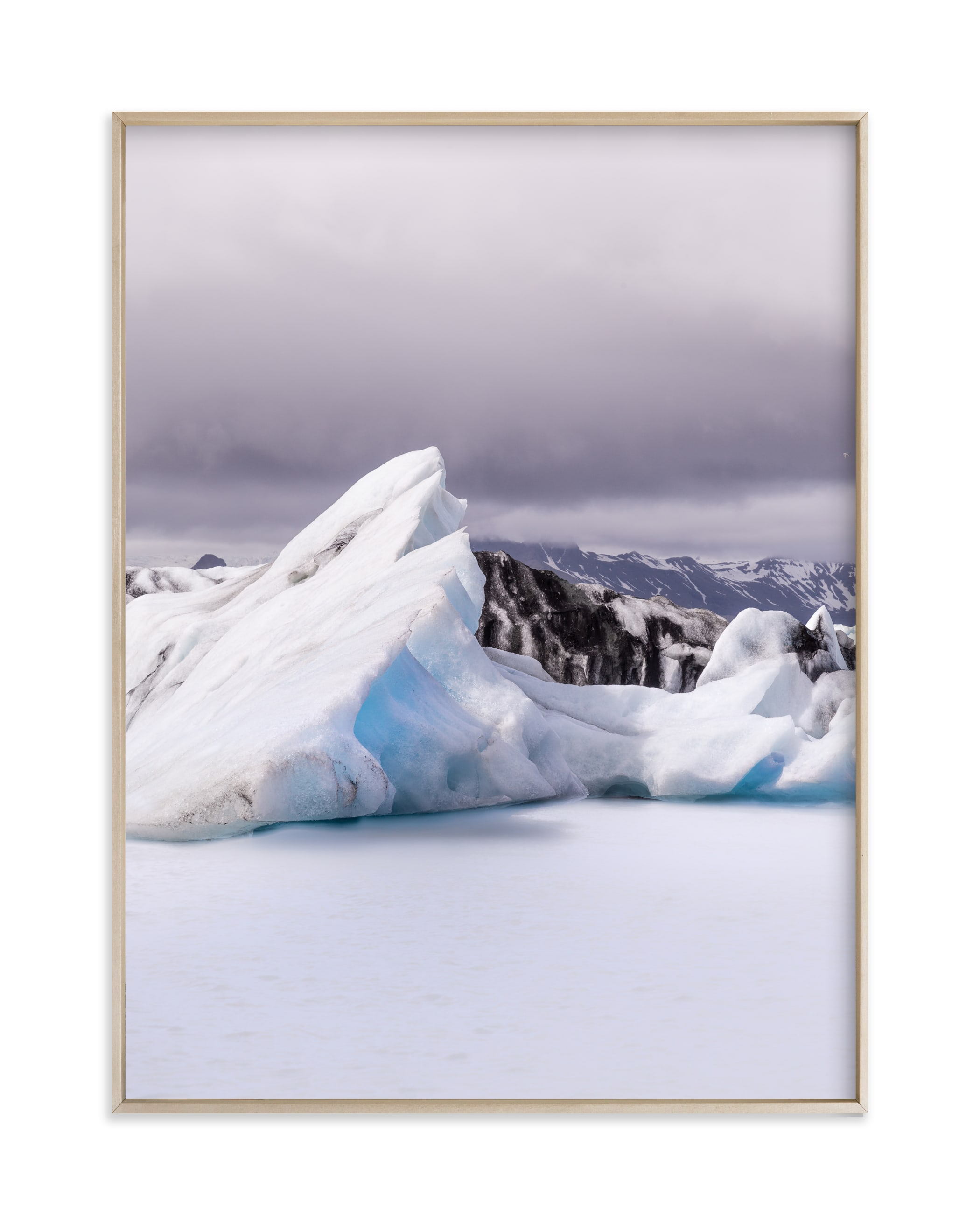 """""""Form of ice #3"""" by Van Tsao in beautiful frame options and a variety of sizes."""