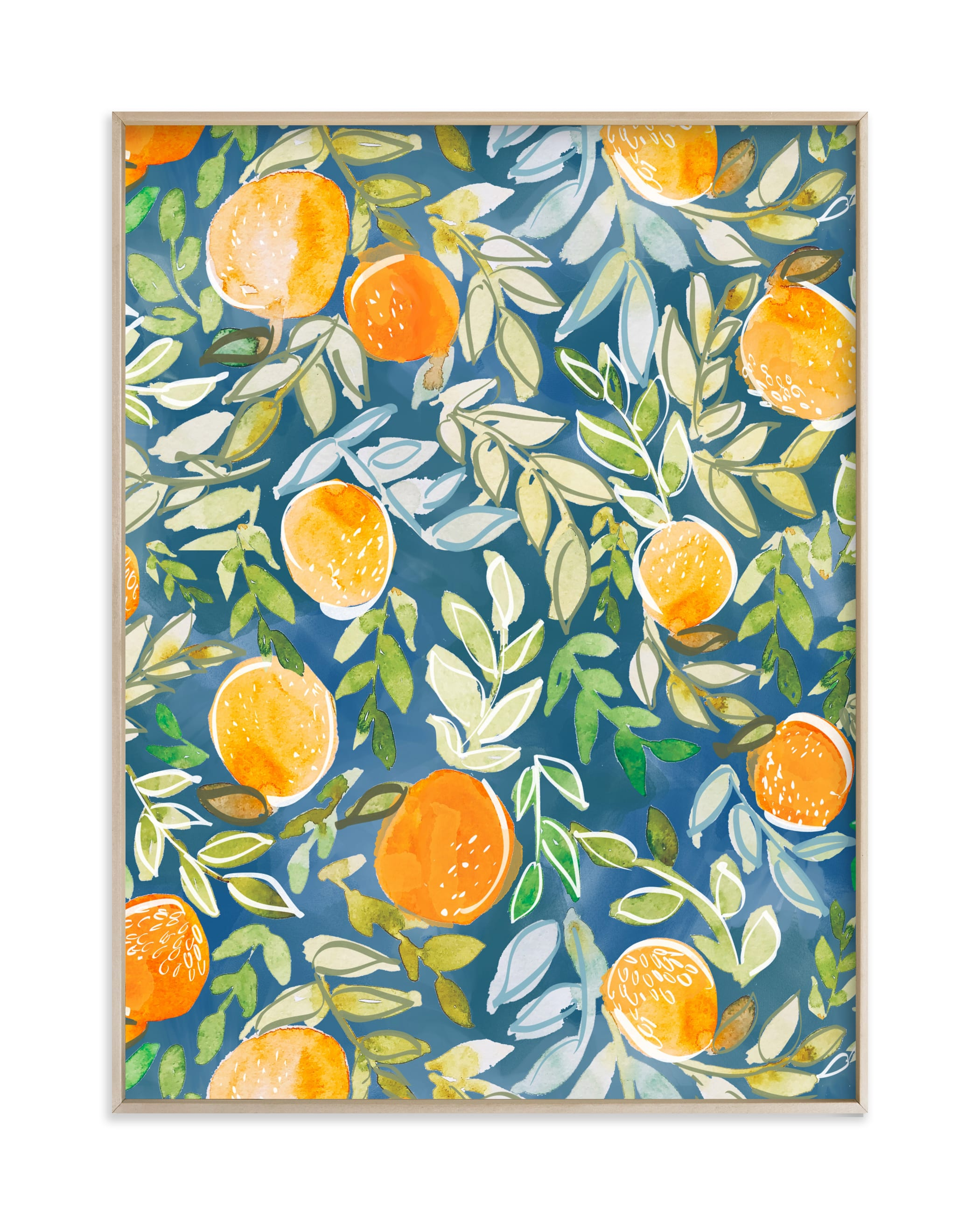 """Fruitful and Free"" by Britt Mills in beautiful frame options and a variety of sizes."