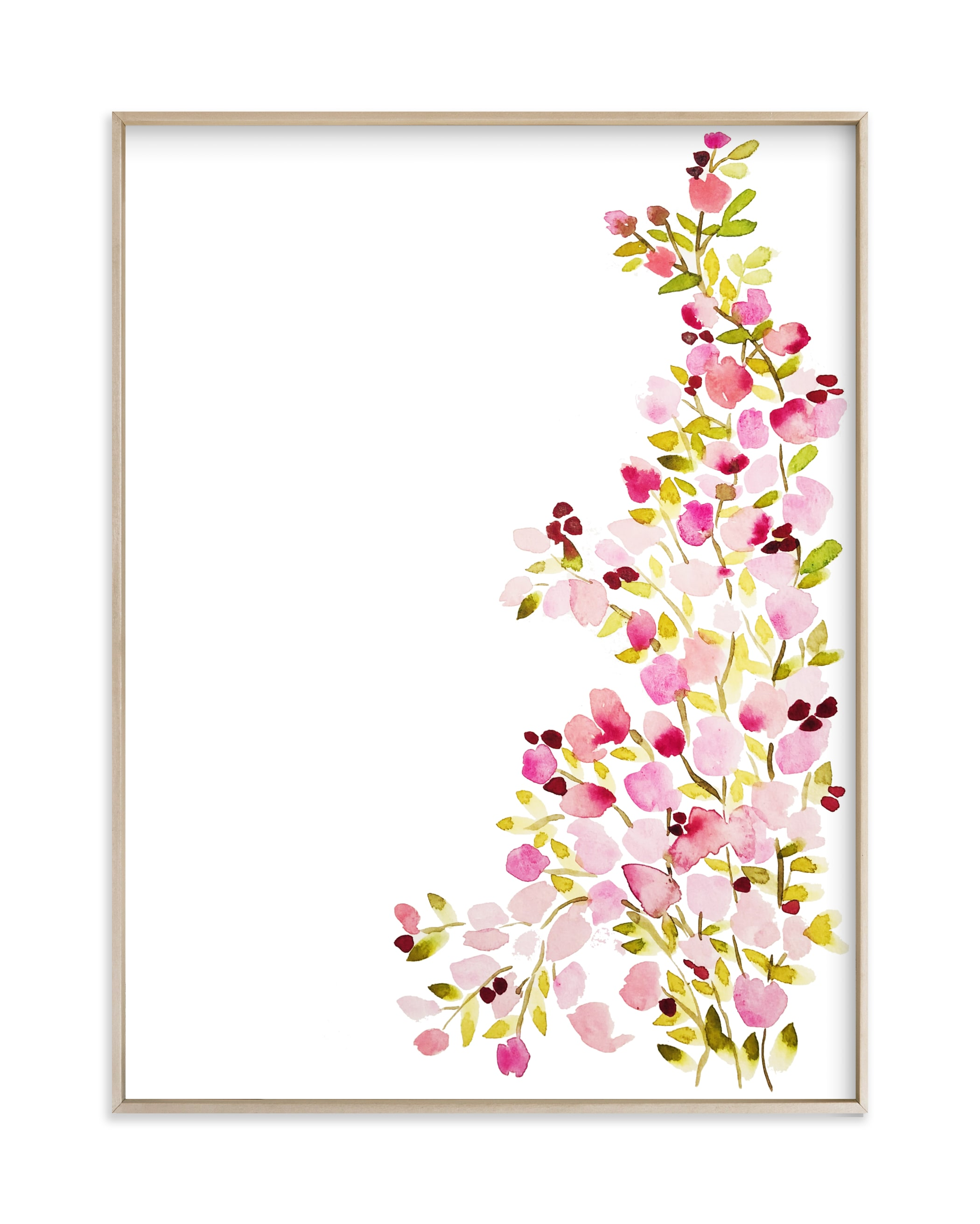 """Climbing Petals"" by Britt Mills in beautiful frame options and a variety of sizes."