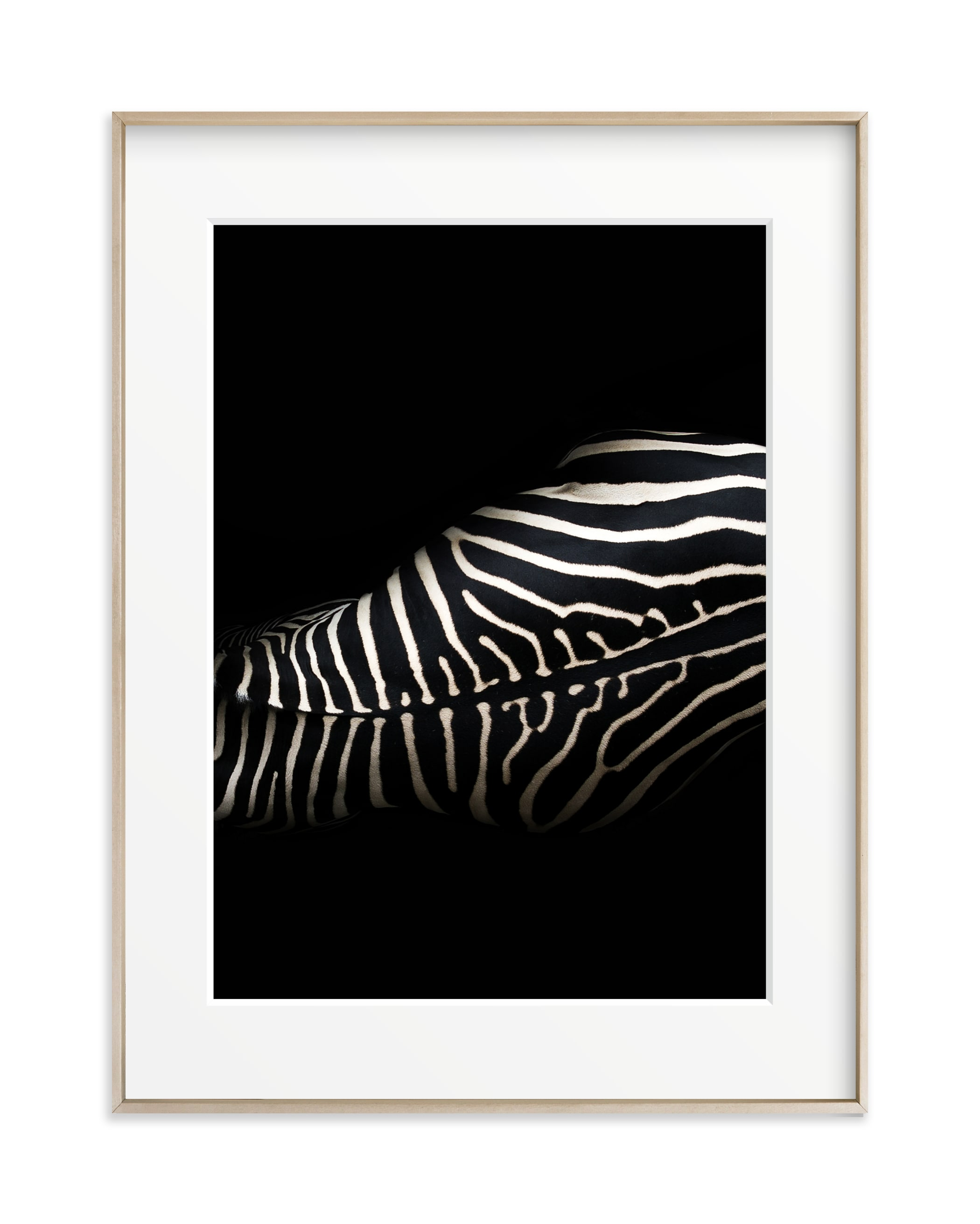 Night Stripes II Art Print