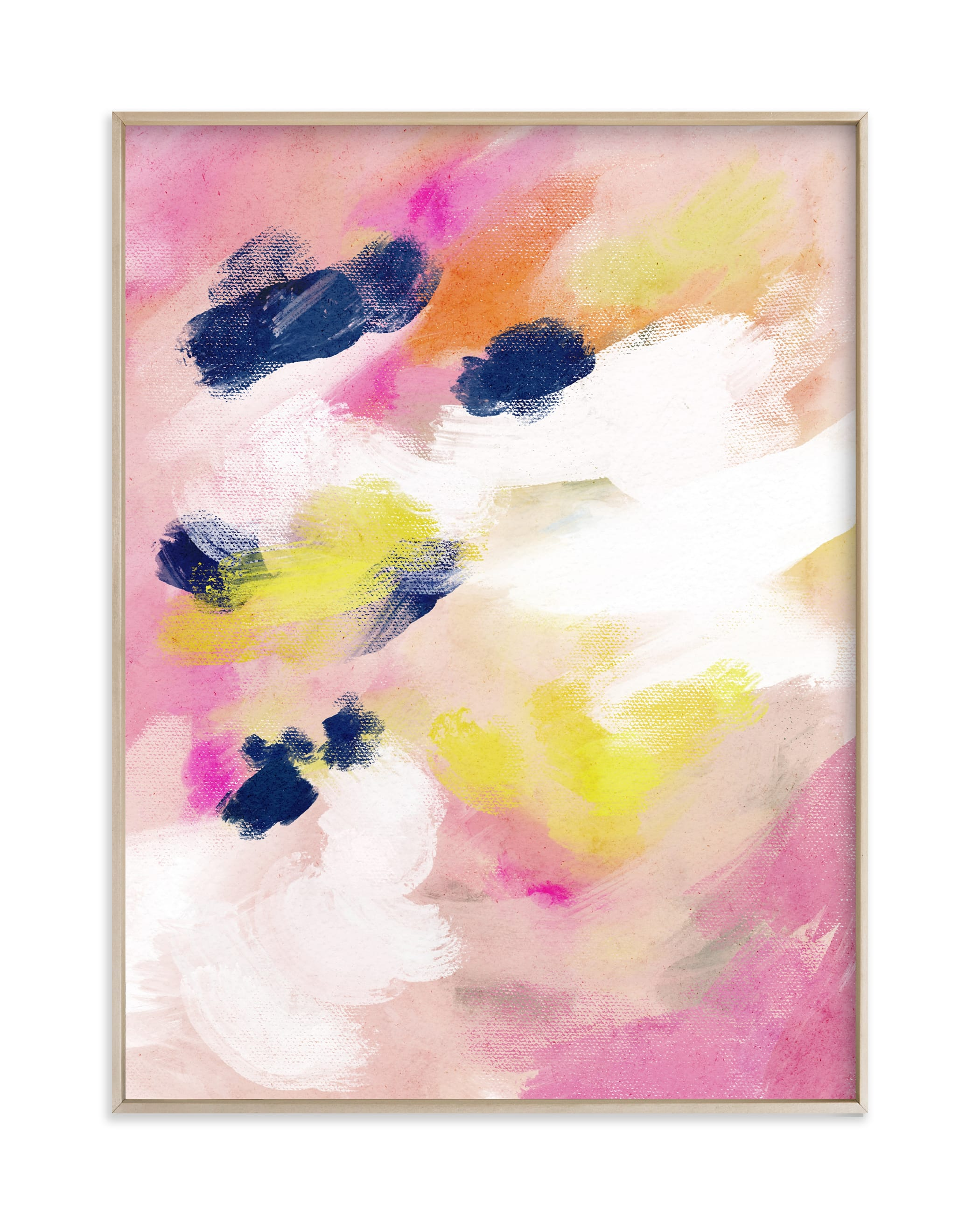 """""""Preppy in Pink"""" by Britt Mills in beautiful frame options and a variety of sizes."""
