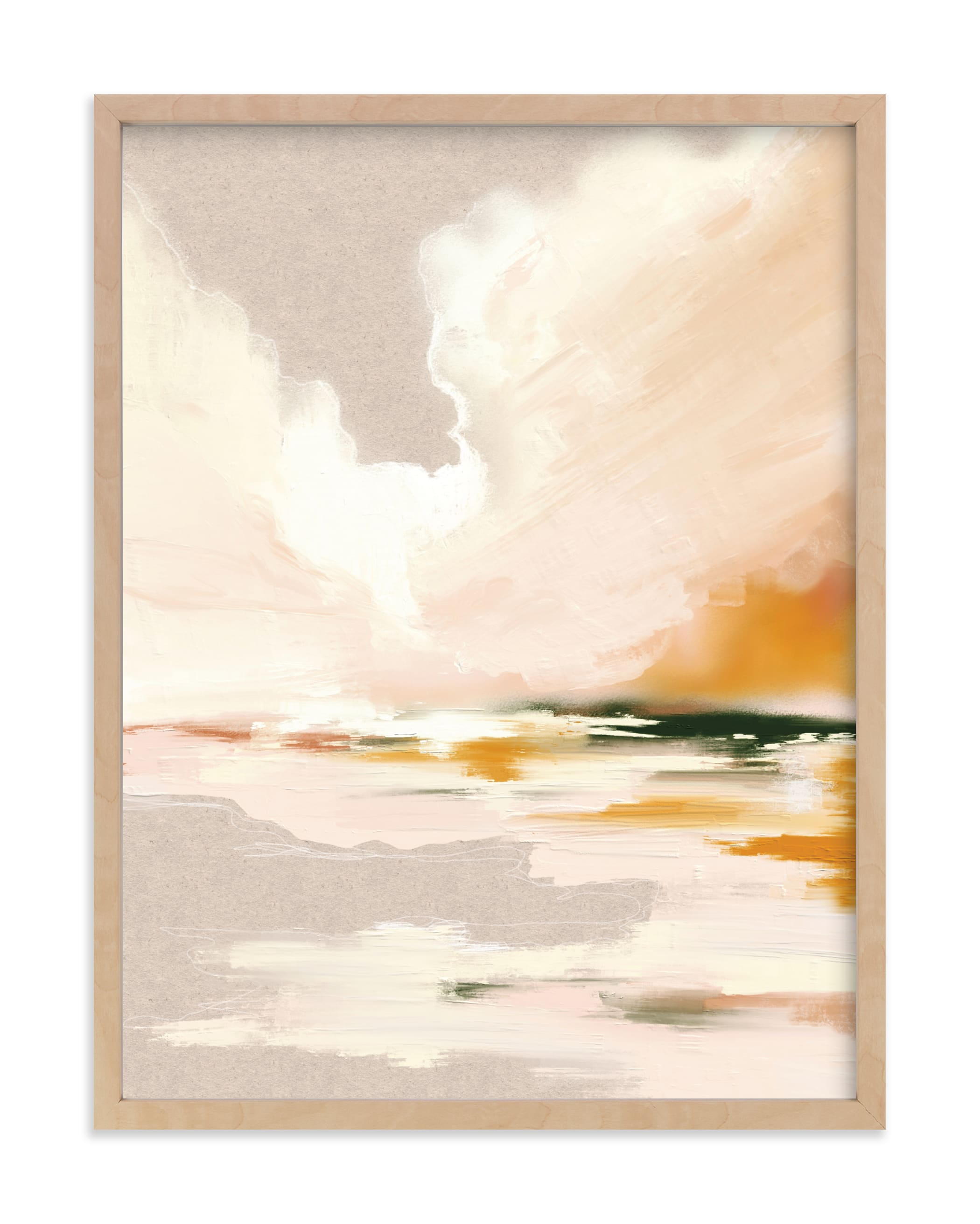 """""""Lulu's Landing"""" - Limited Edition Art Print by Katy Abraham in beautiful frame options and a variety of sizes."""