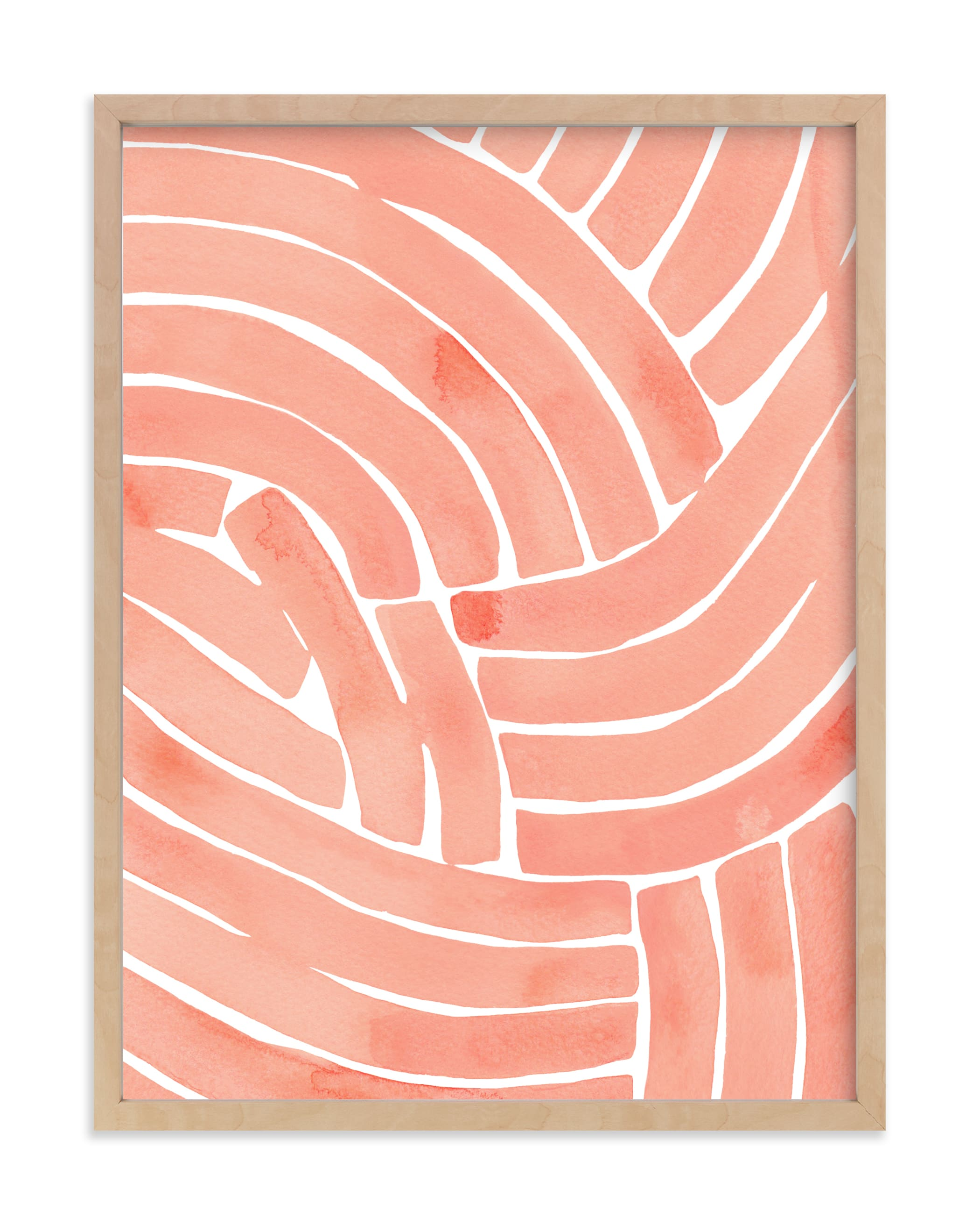 """""""Curvy lines"""" - Limited Edition Art Print by Kristine Sarley in beautiful frame options and a variety of sizes."""