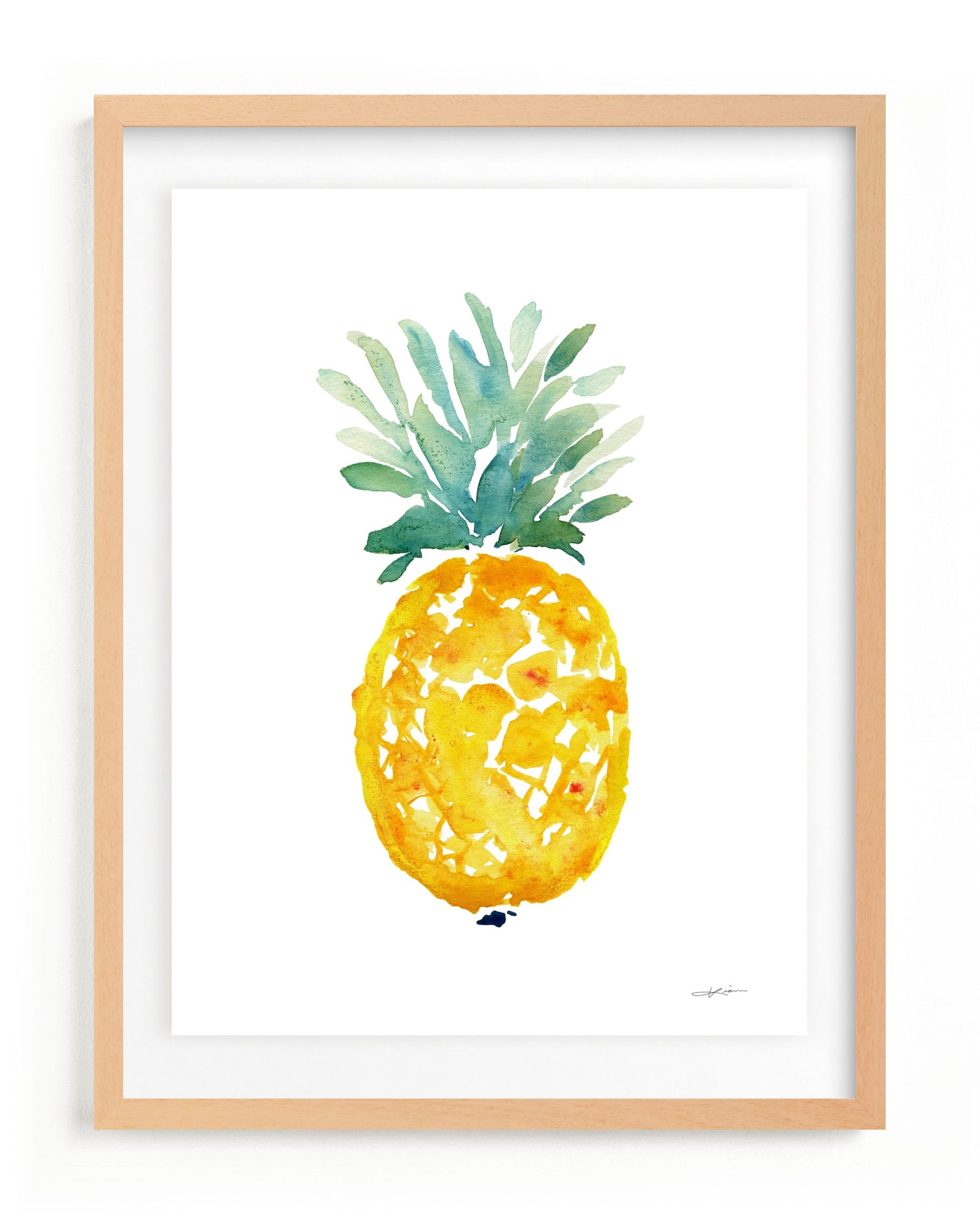 ananas Art Print