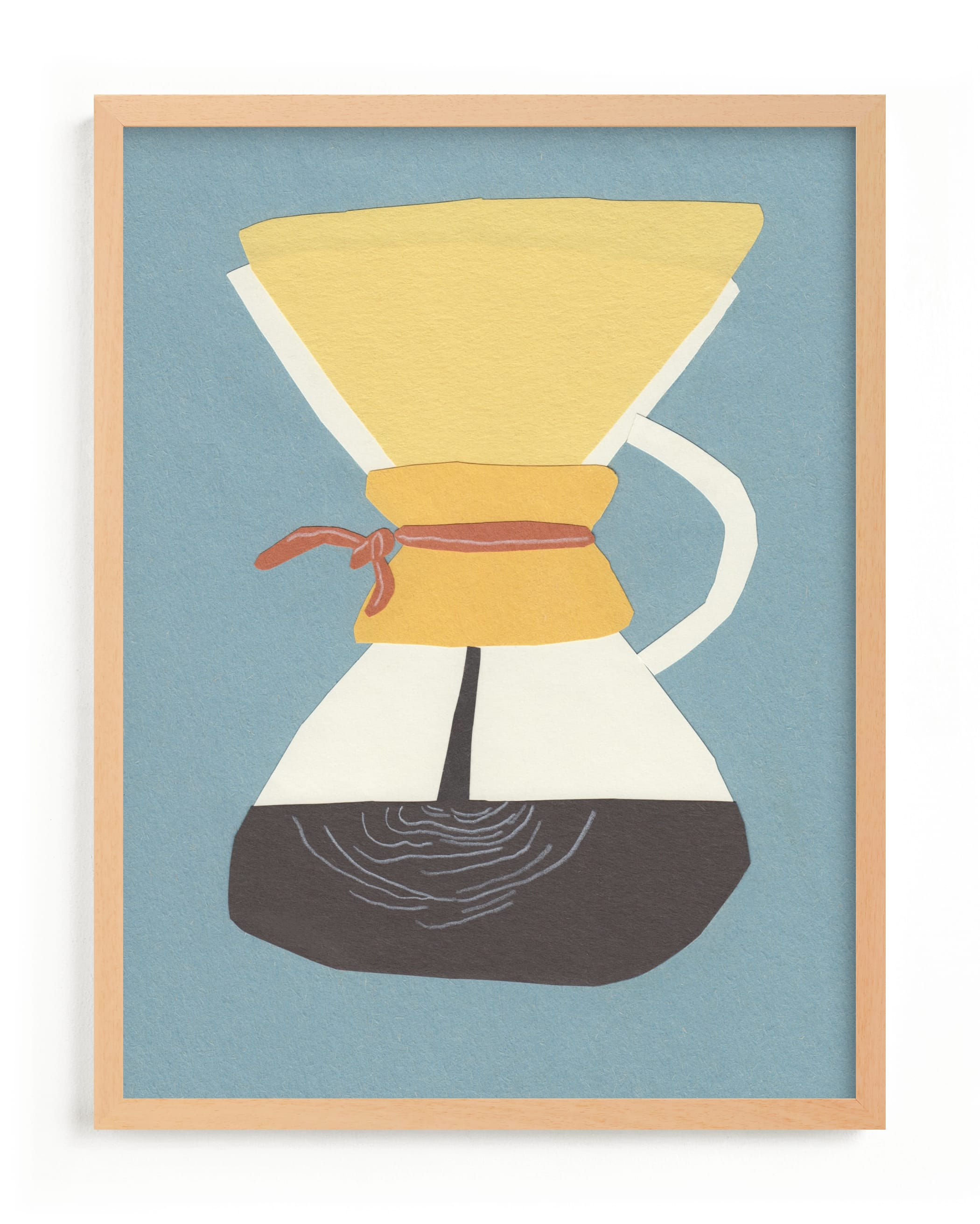 """""""Chemex"""" - Limited Edition Art Print by Elliot Stokes in beautiful frame options and a variety of sizes."""