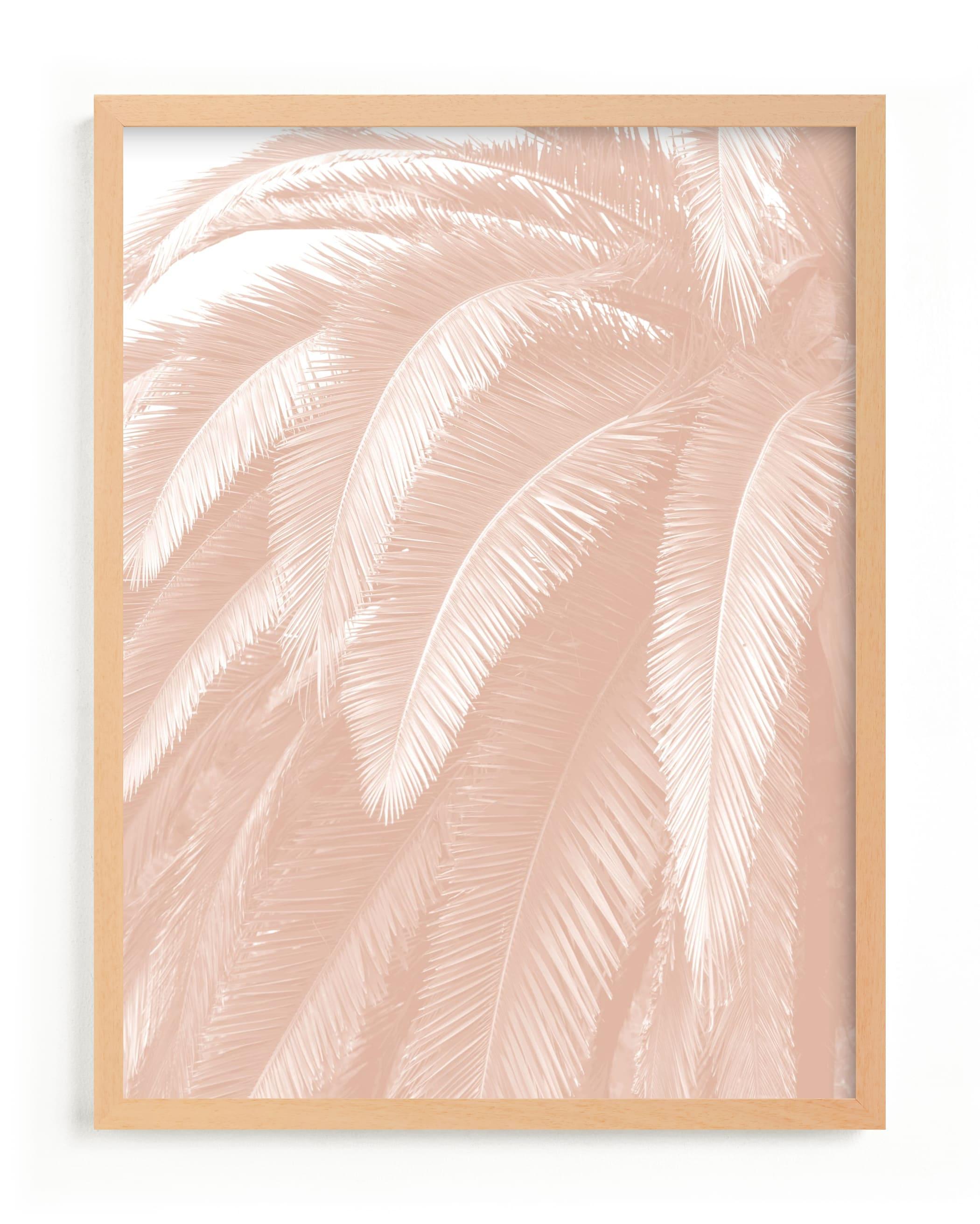Soft Palm Top Children's Art Print