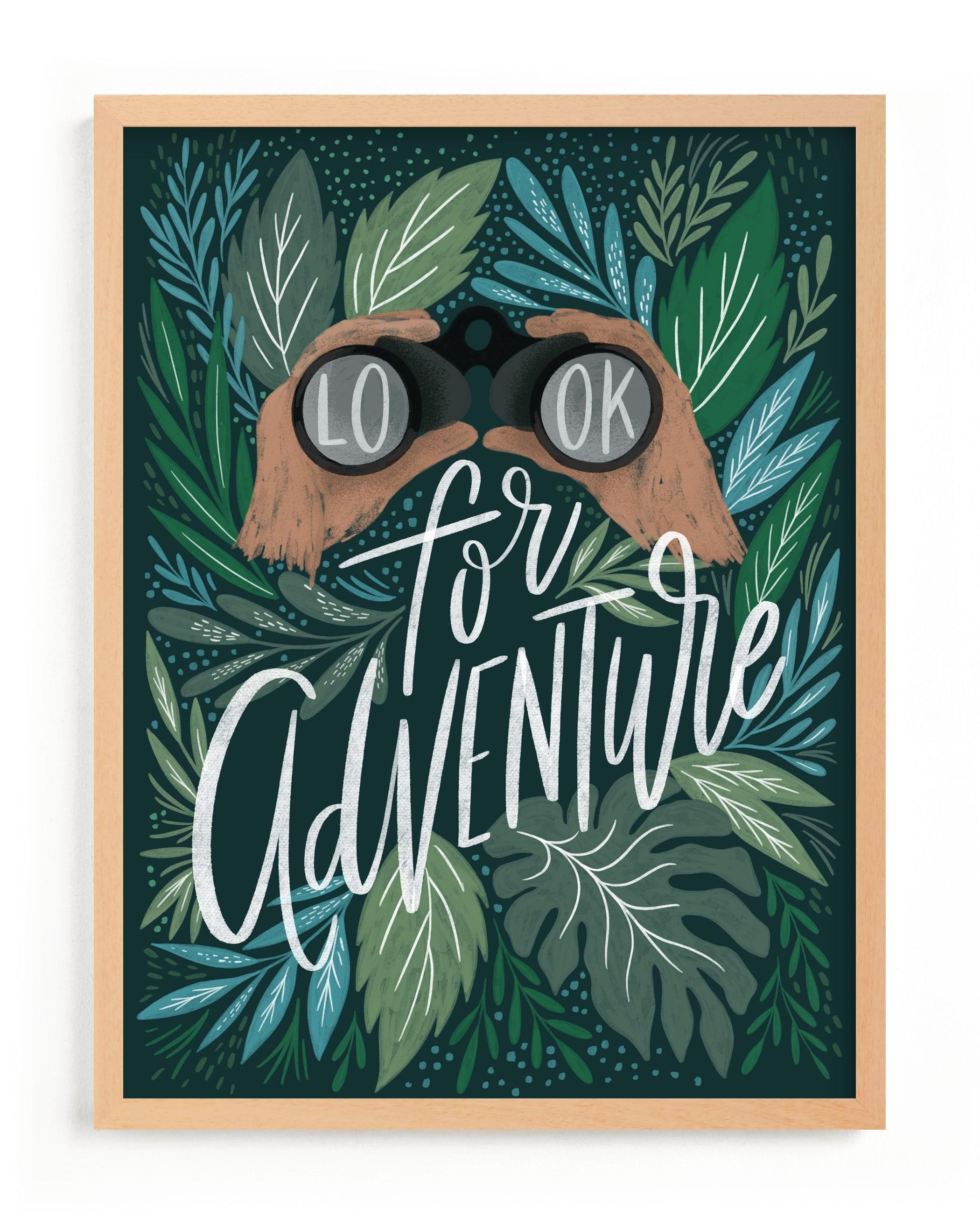 Look for Adventure Children's Art Print