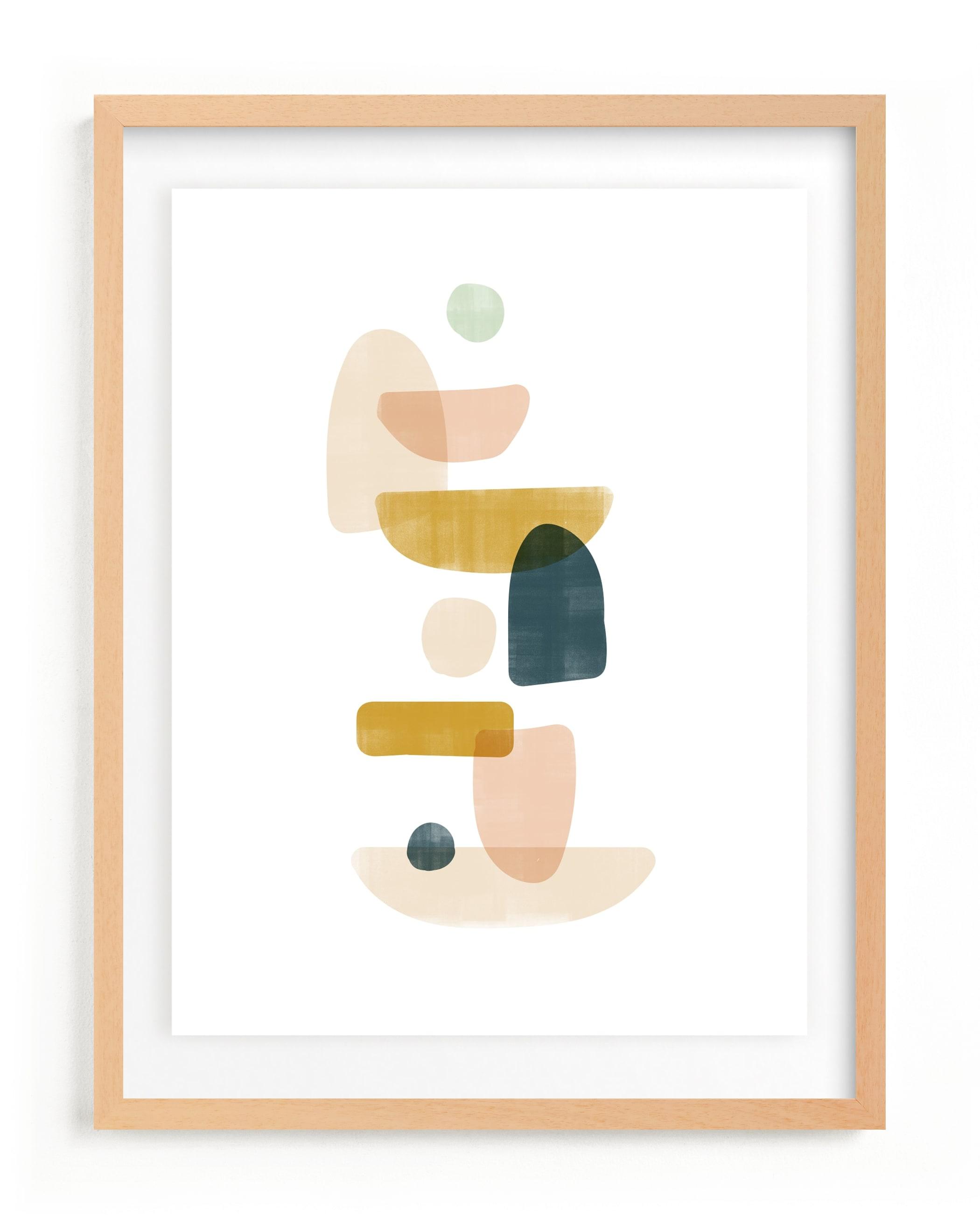 balance no.1 Self-Launch Children's Art Print