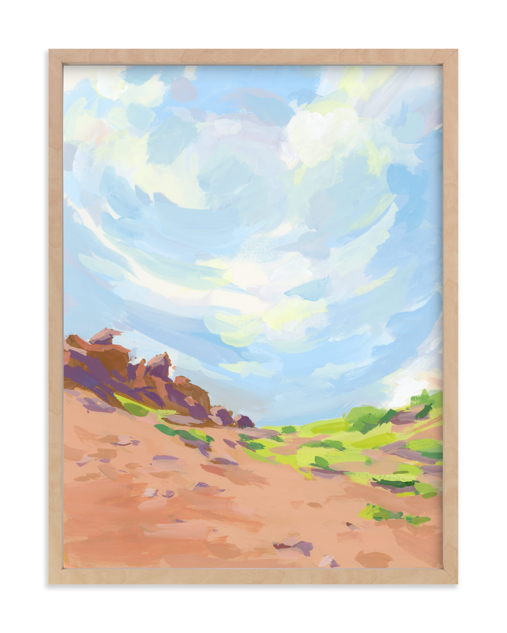 """""""Sonoma Coast"""" by sue prue in beautiful frame options and a variety of sizes."""