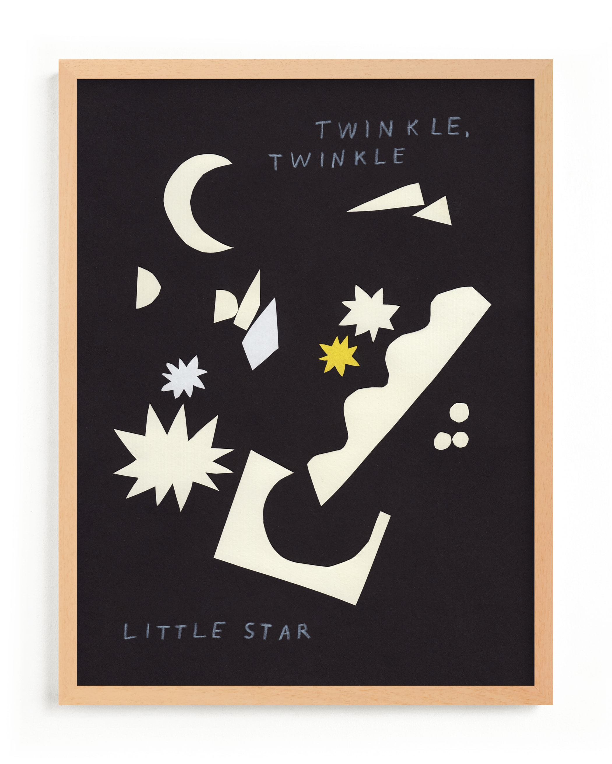 """""""Twinkle, Twinkle Little Star"""" - Limited Edition Art Print by Elliot Stokes in beautiful frame options and a variety of sizes."""