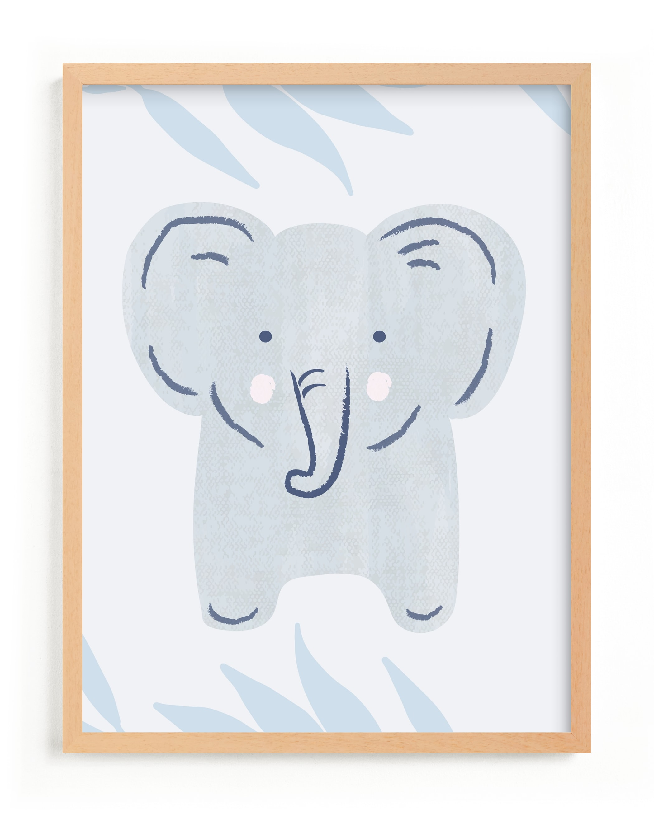 """""""Elephant Portrait"""" - Limited Edition Art Print by Carolyn MacLaren in beautiful frame options and a variety of sizes."""
