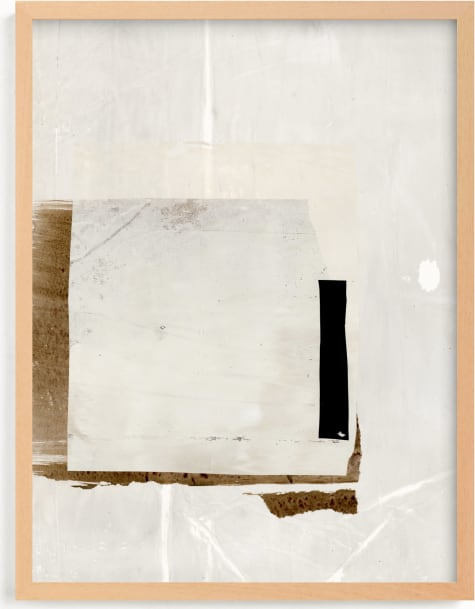This is a white art by Jennifer Daily called You Should Know II.