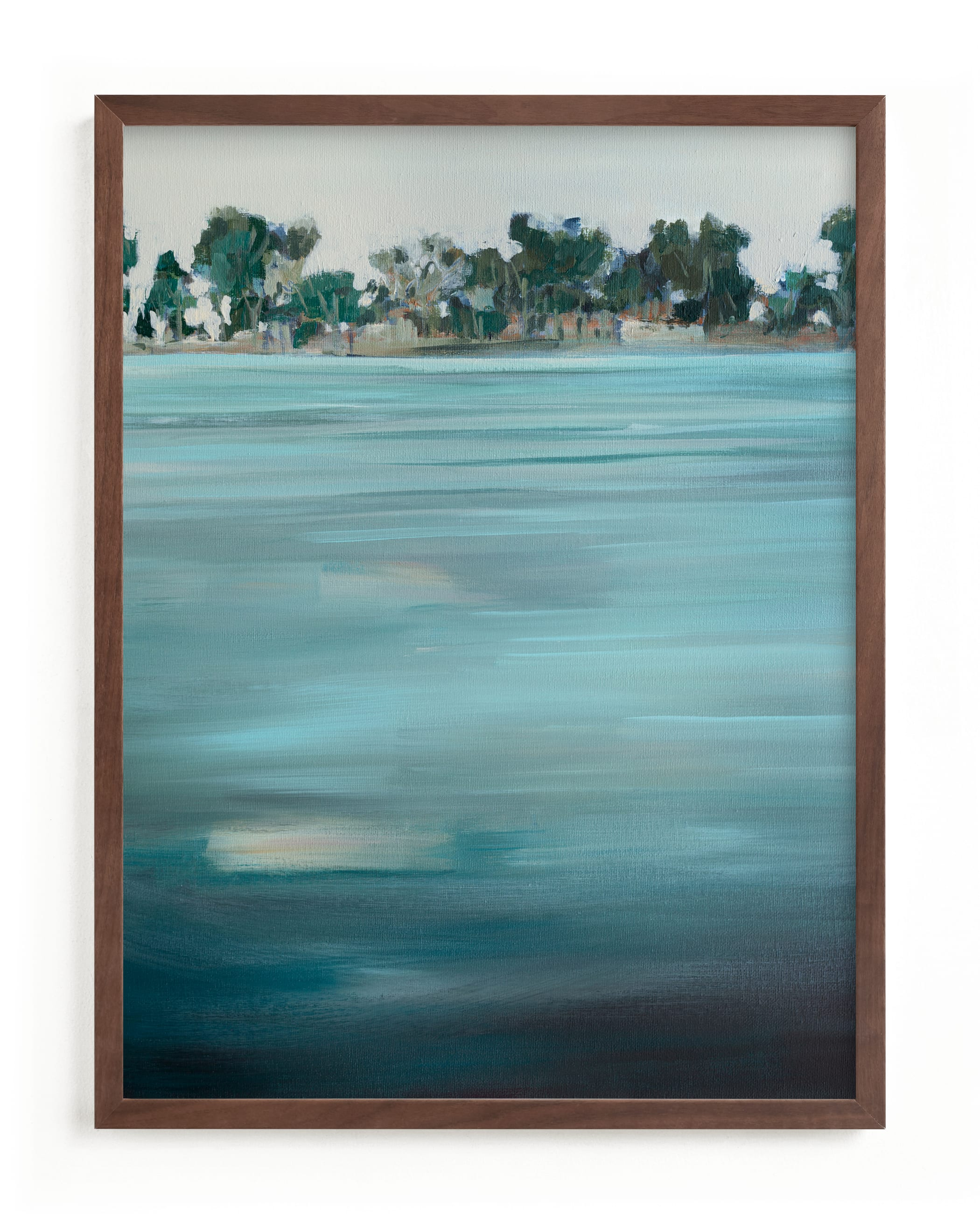 """""""Come Ashore"""" - Limited Edition Art Print by Jen Florentine in beautiful frame options and a variety of sizes."""