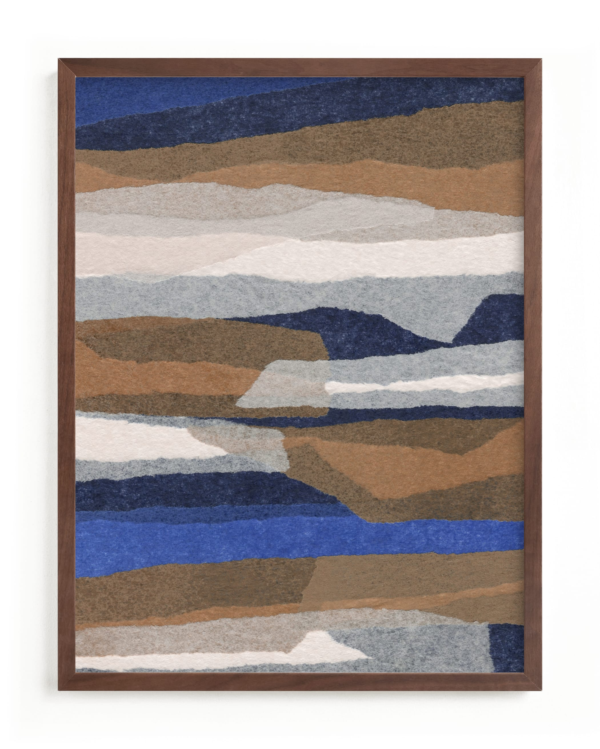 """""""stormy strata"""" - Limited Edition Art Print by Carrie Moradi in beautiful frame options and a variety of sizes."""