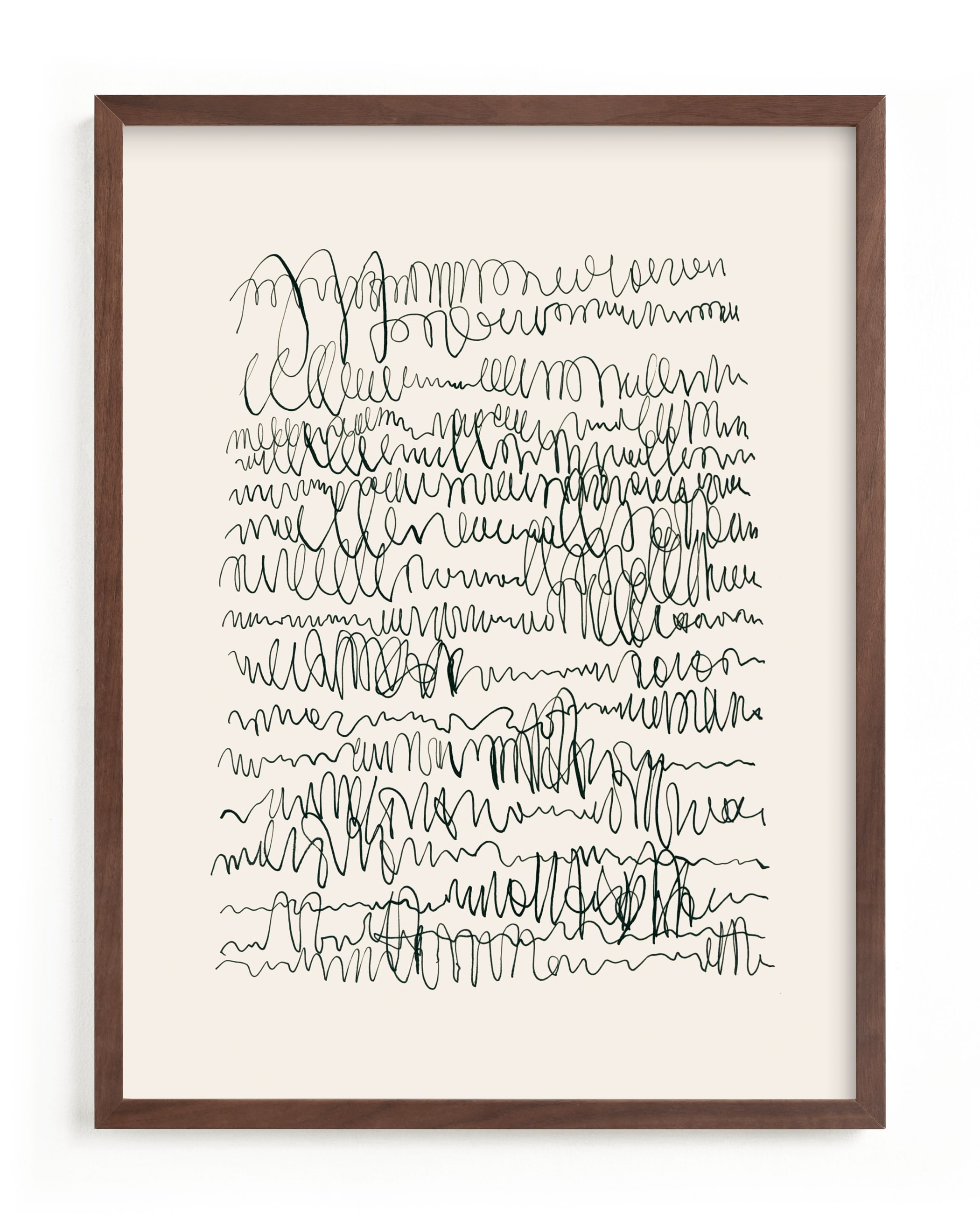 Nature, you and me N.4 I Wall Art Print