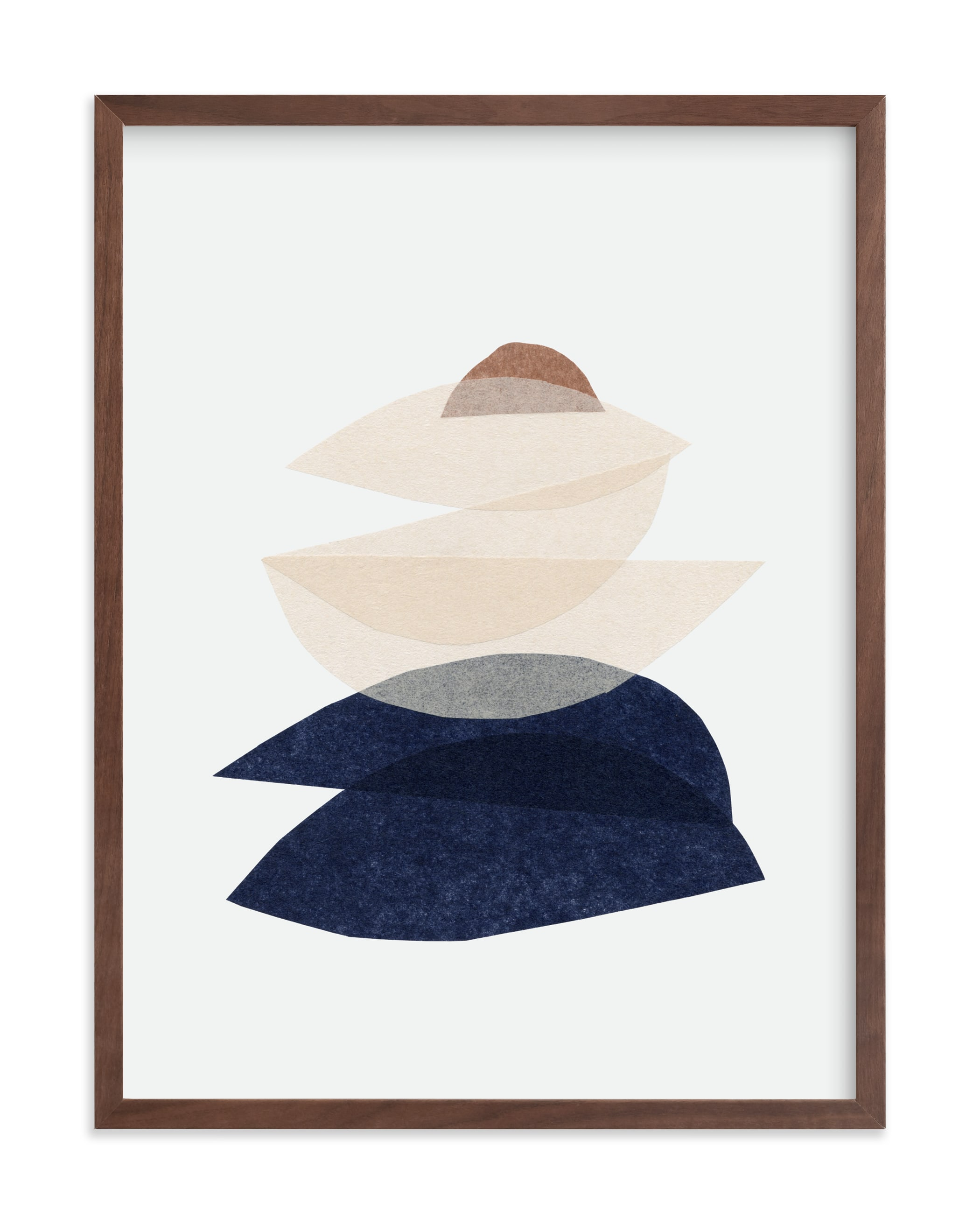 """""""paper blossoms II"""" - Limited Edition Art Print by Carrie Moradi in beautiful frame options and a variety of sizes."""