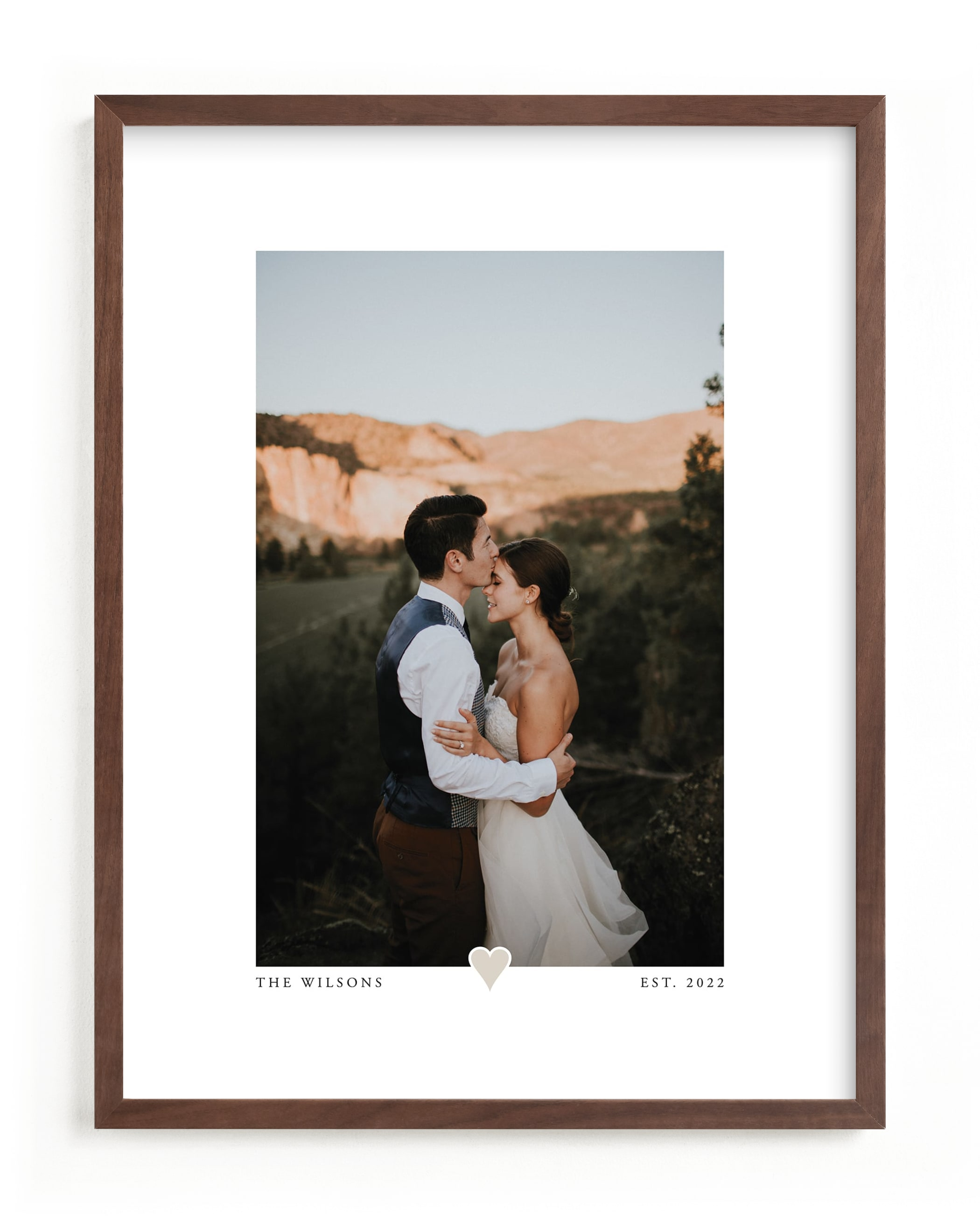 """""""With a Heart - Portrait"""" - Custom Photo Art Print by Laura Hamm in beautiful frame options and a variety of sizes."""