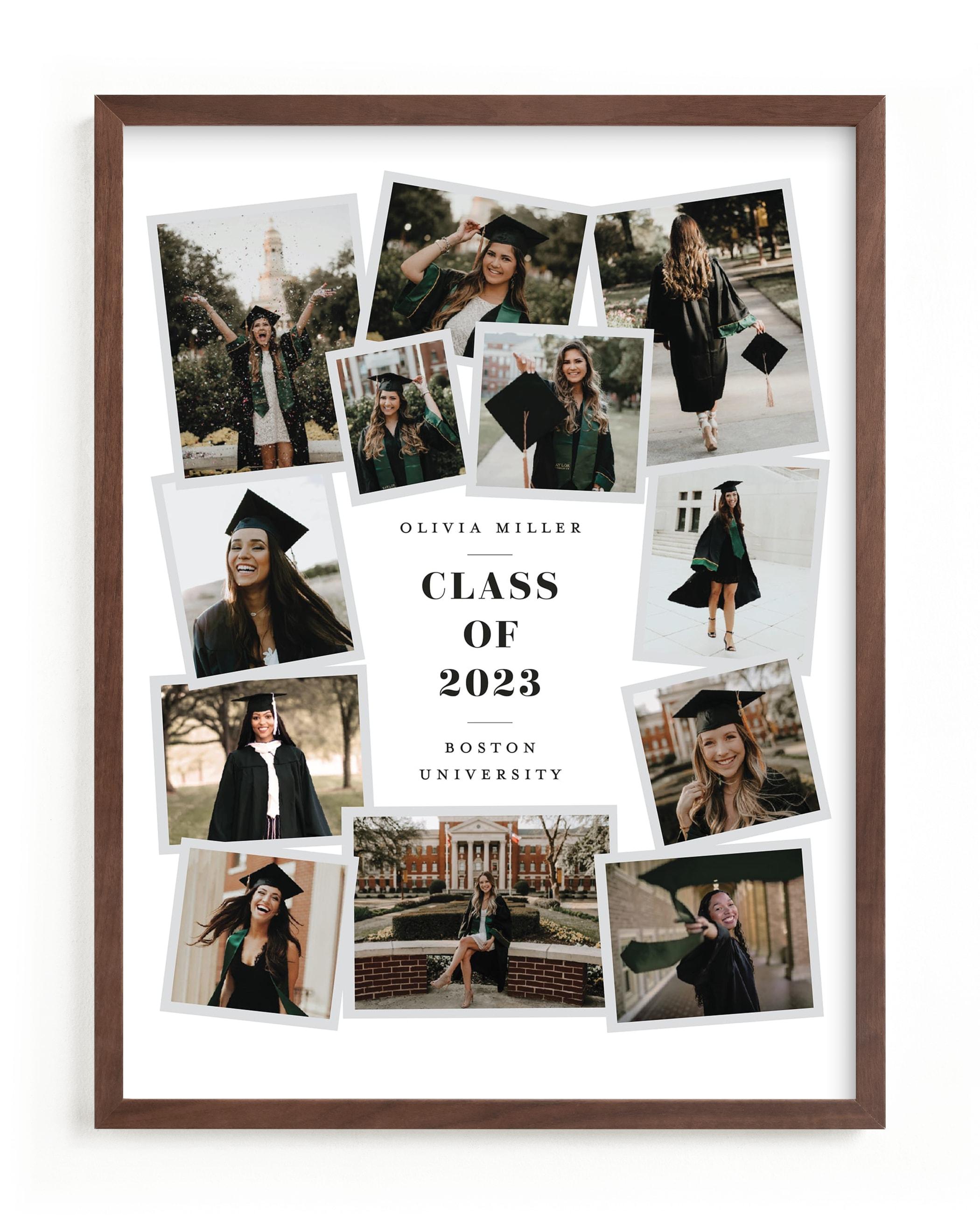 Grad Collage I Custom Photo Art Print