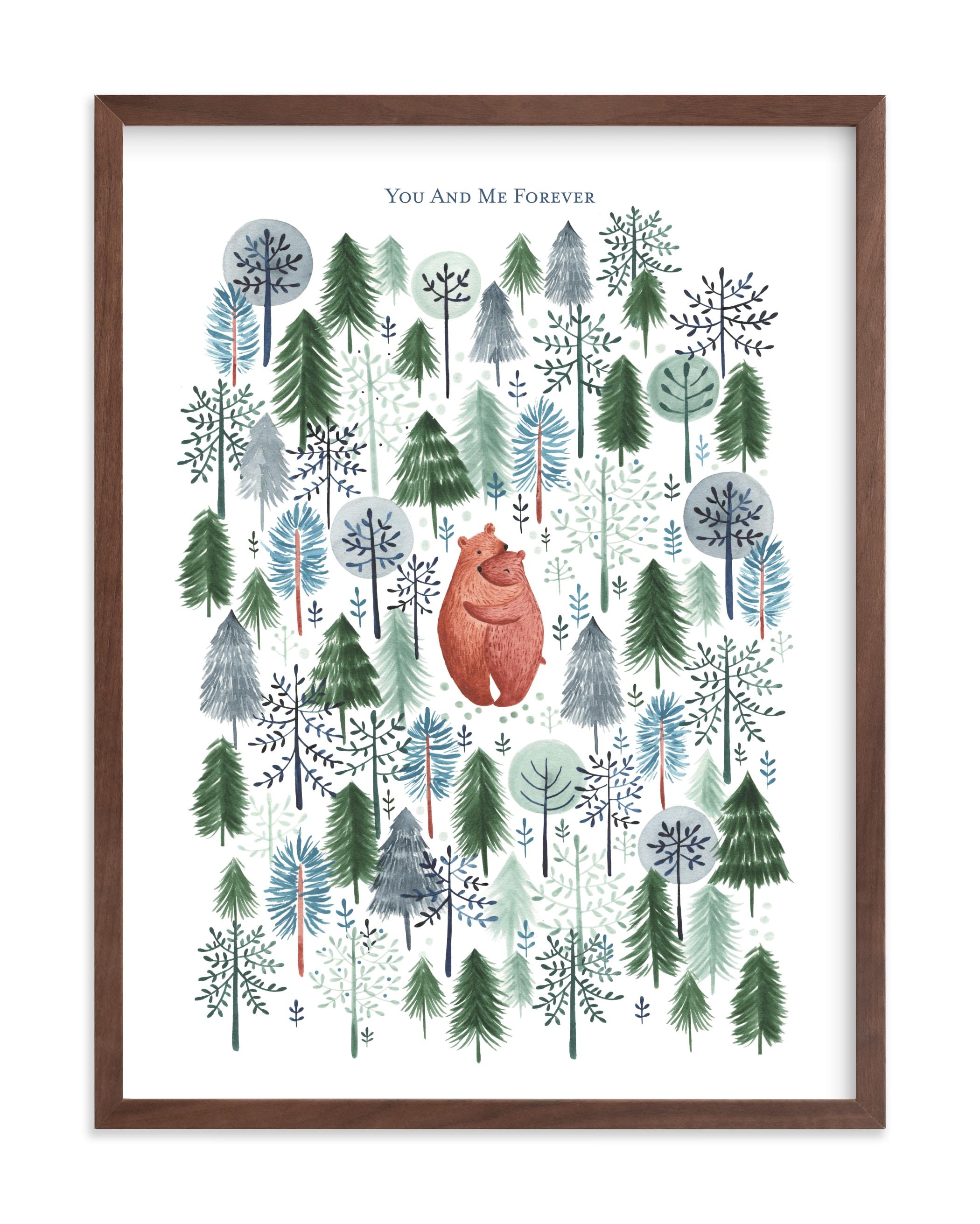 Never Alone Nursery Custom Art Print