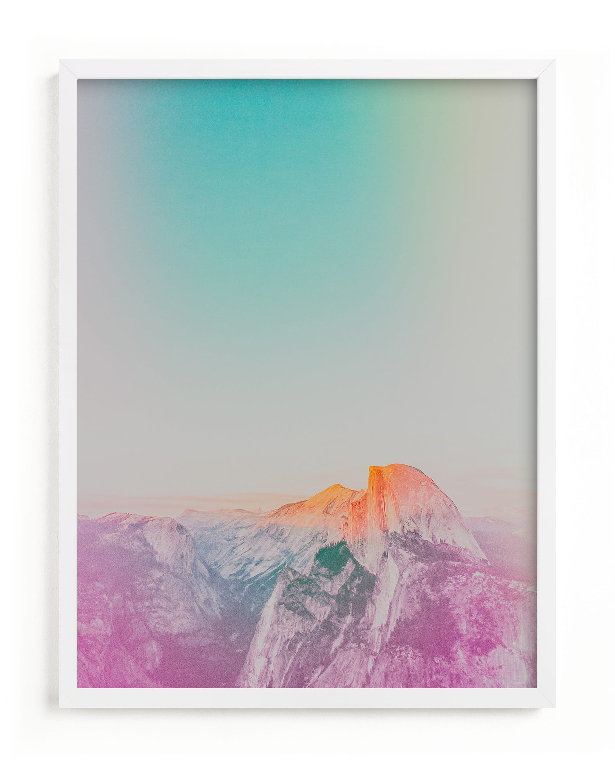 """""""Phosphorescent V"""" - Limited Edition Art Print by Lindsay Ferraris Photography in beautiful frame options and a variety of sizes."""