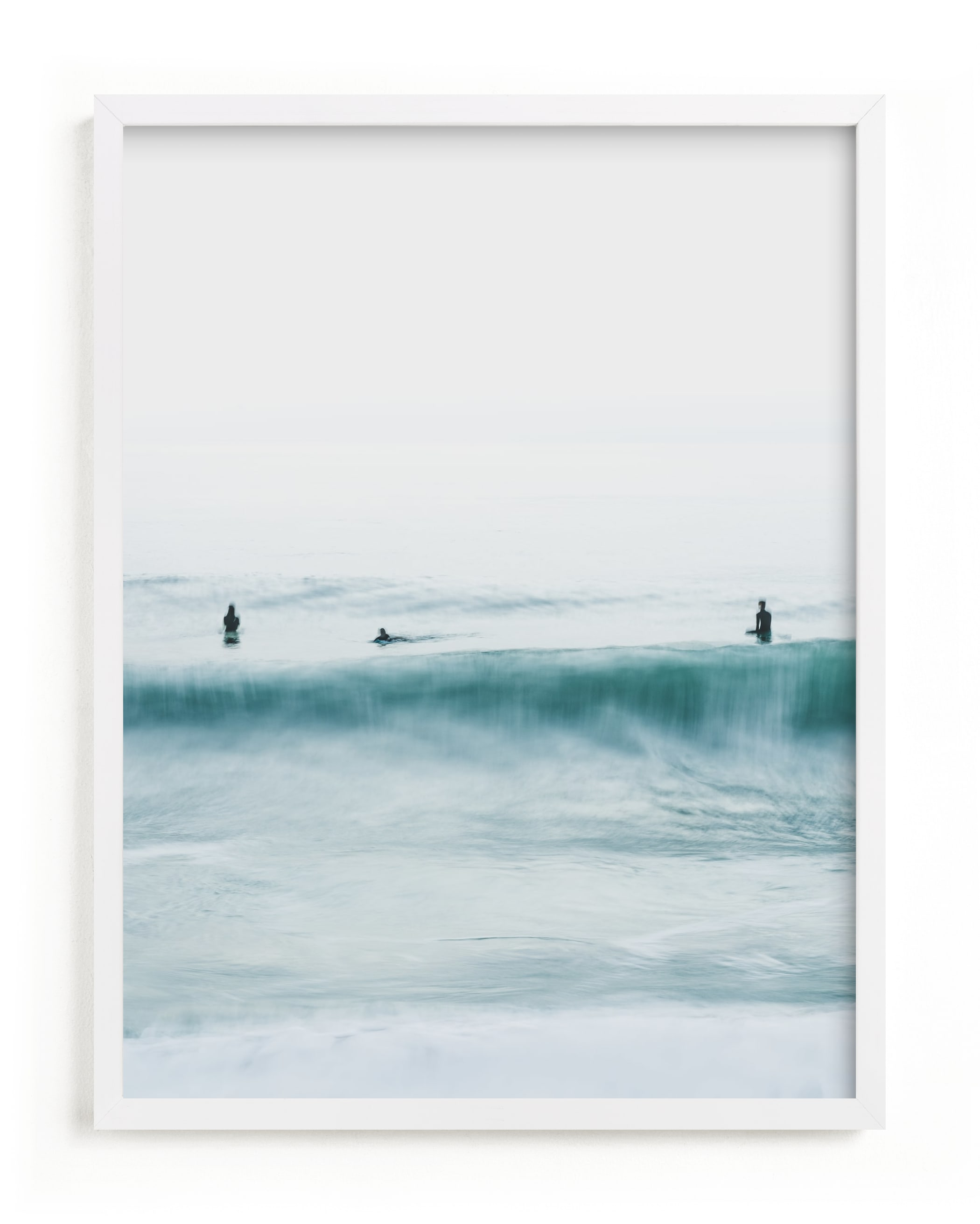 """""""Hermosa Blue II"""" - Limited Edition Art Print by Mike Sunu in beautiful frame options and a variety of sizes."""