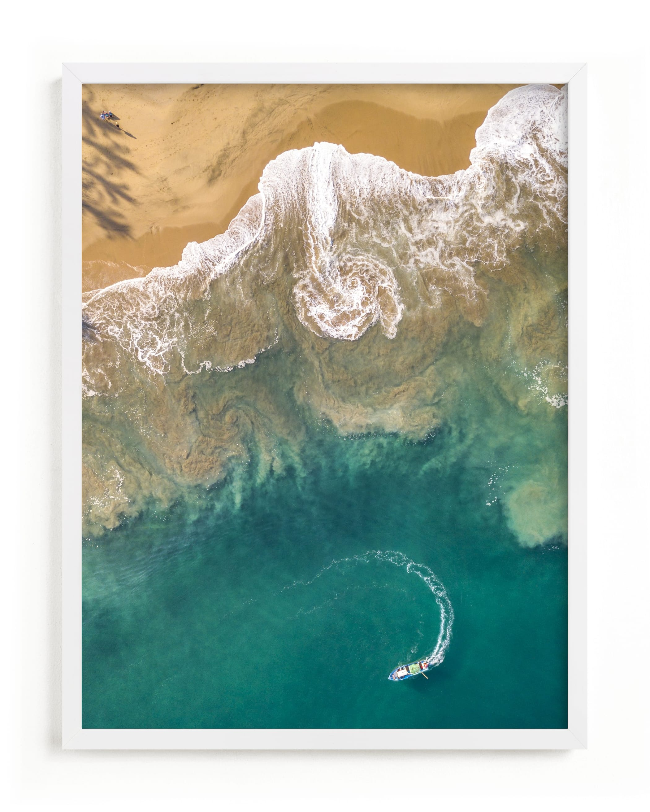 """Sea Change"" - Limited Edition Art Print by Shari Margolin in beautiful frame options and a variety of sizes."