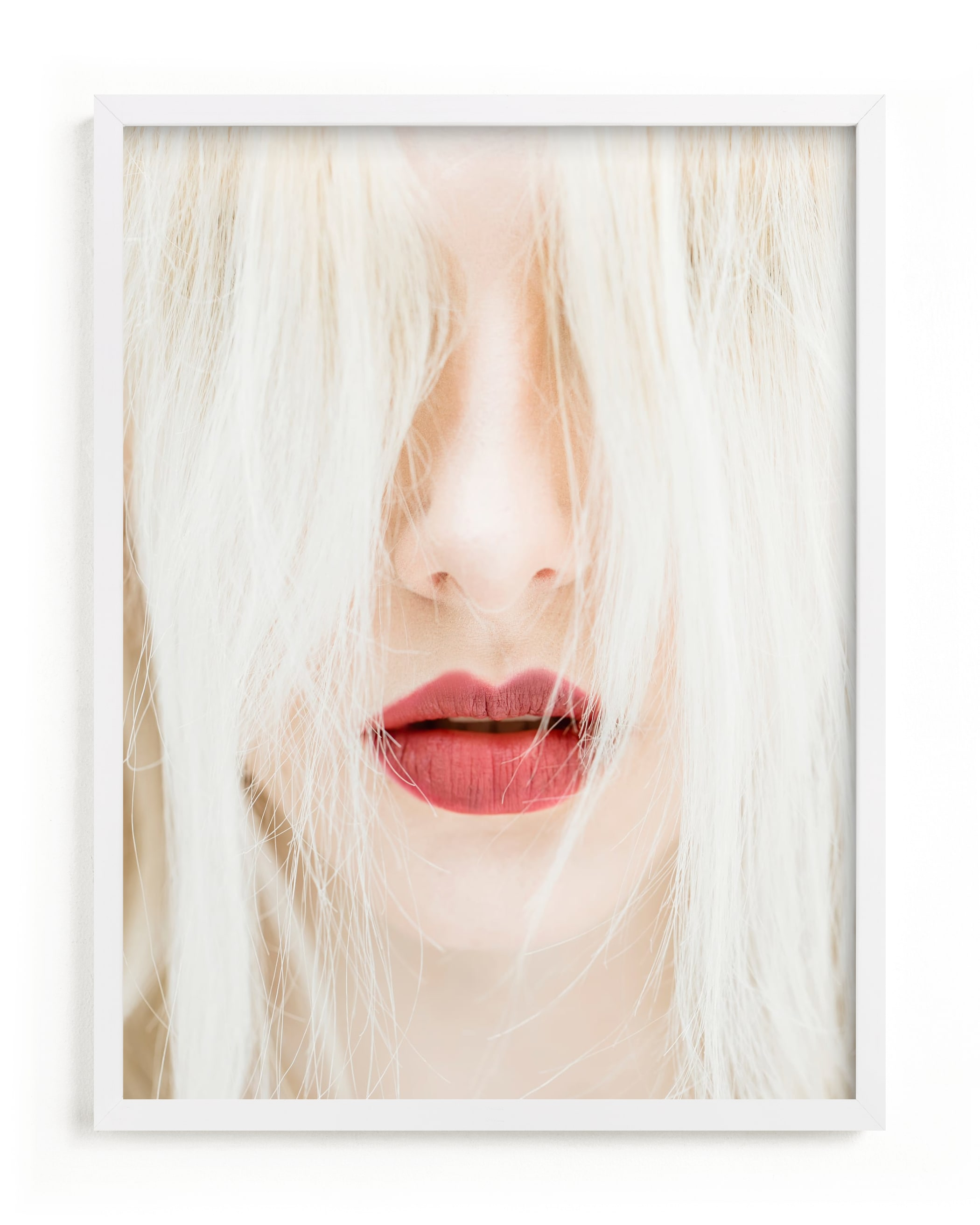 """Lipssss"" - Limited Edition Art Print by Cathy Sunu in beautiful frame options and a variety of sizes."