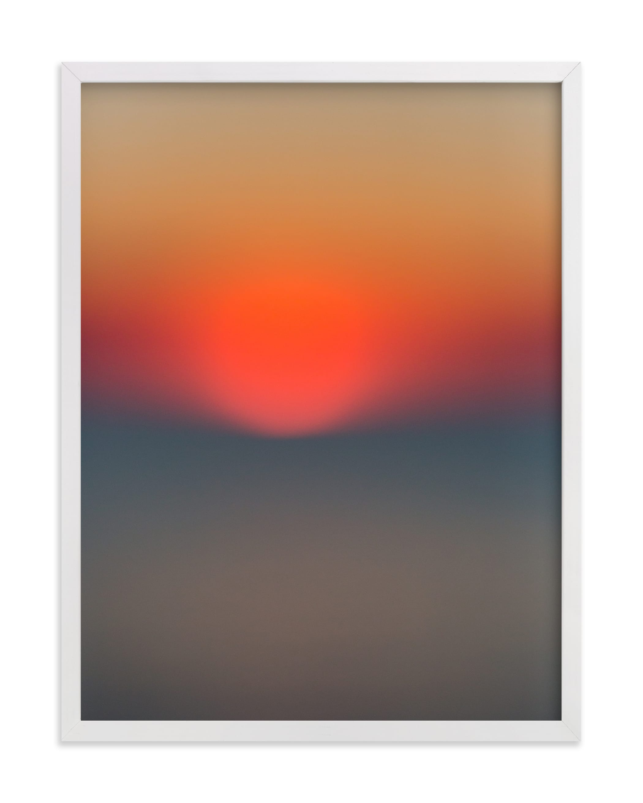 The Sun Also Sets Wall Art Print
