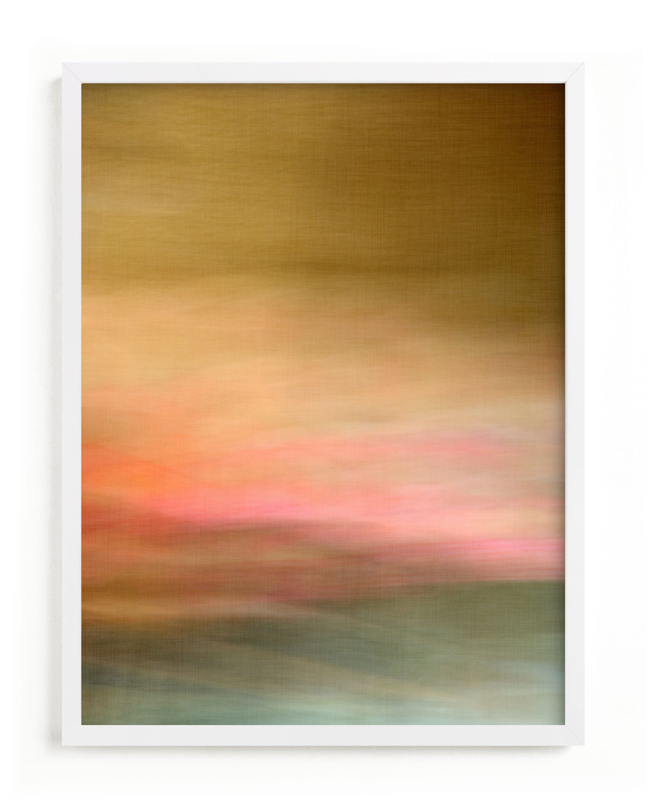 """""""Prairie"""" - Limited Edition Art Print by Laura Bolter in beautiful frame options and a variety of sizes."""