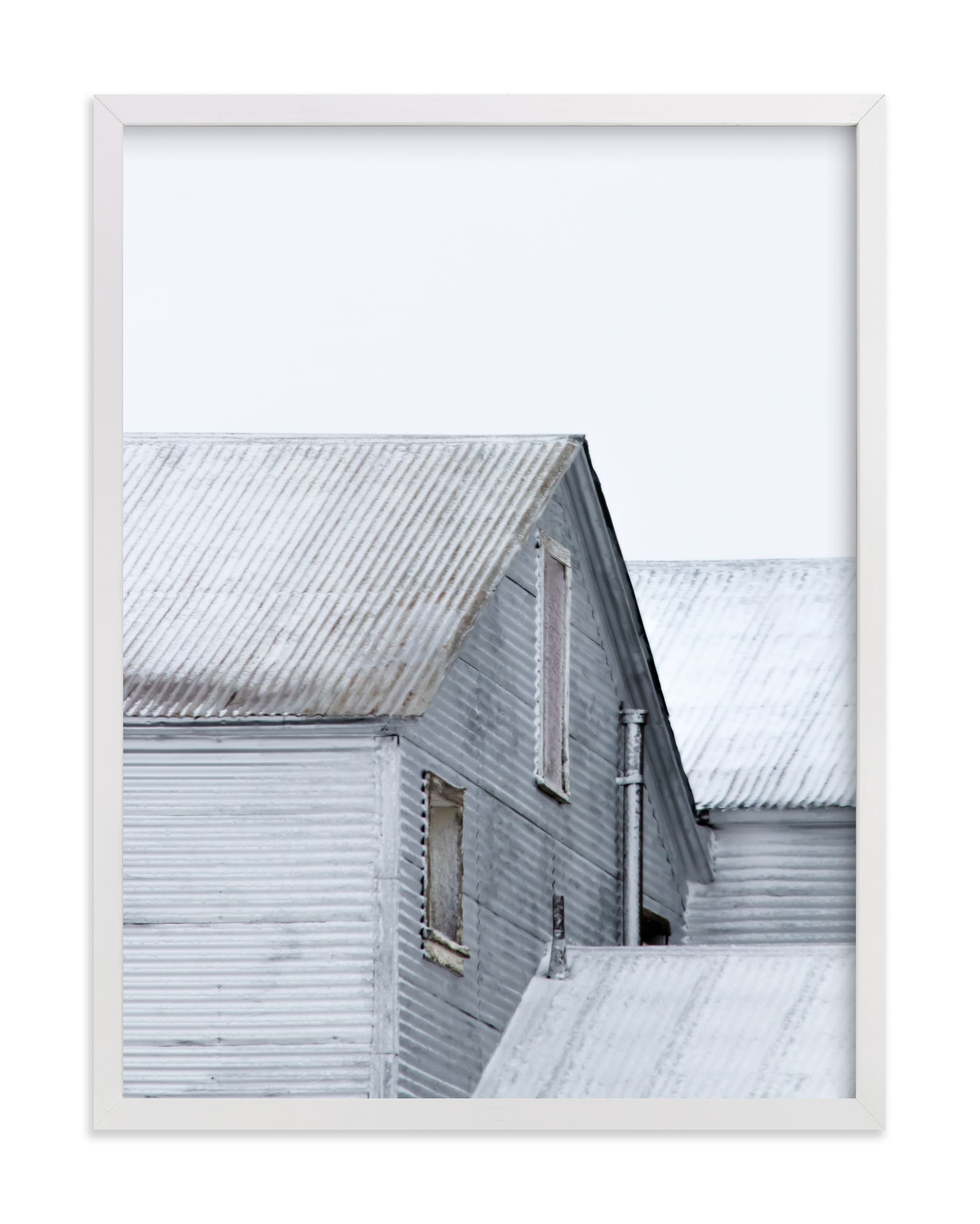 """""""Nordic Frost"""" - Limited Edition Art Print by Lisa Sundin in beautiful frame options and a variety of sizes."""