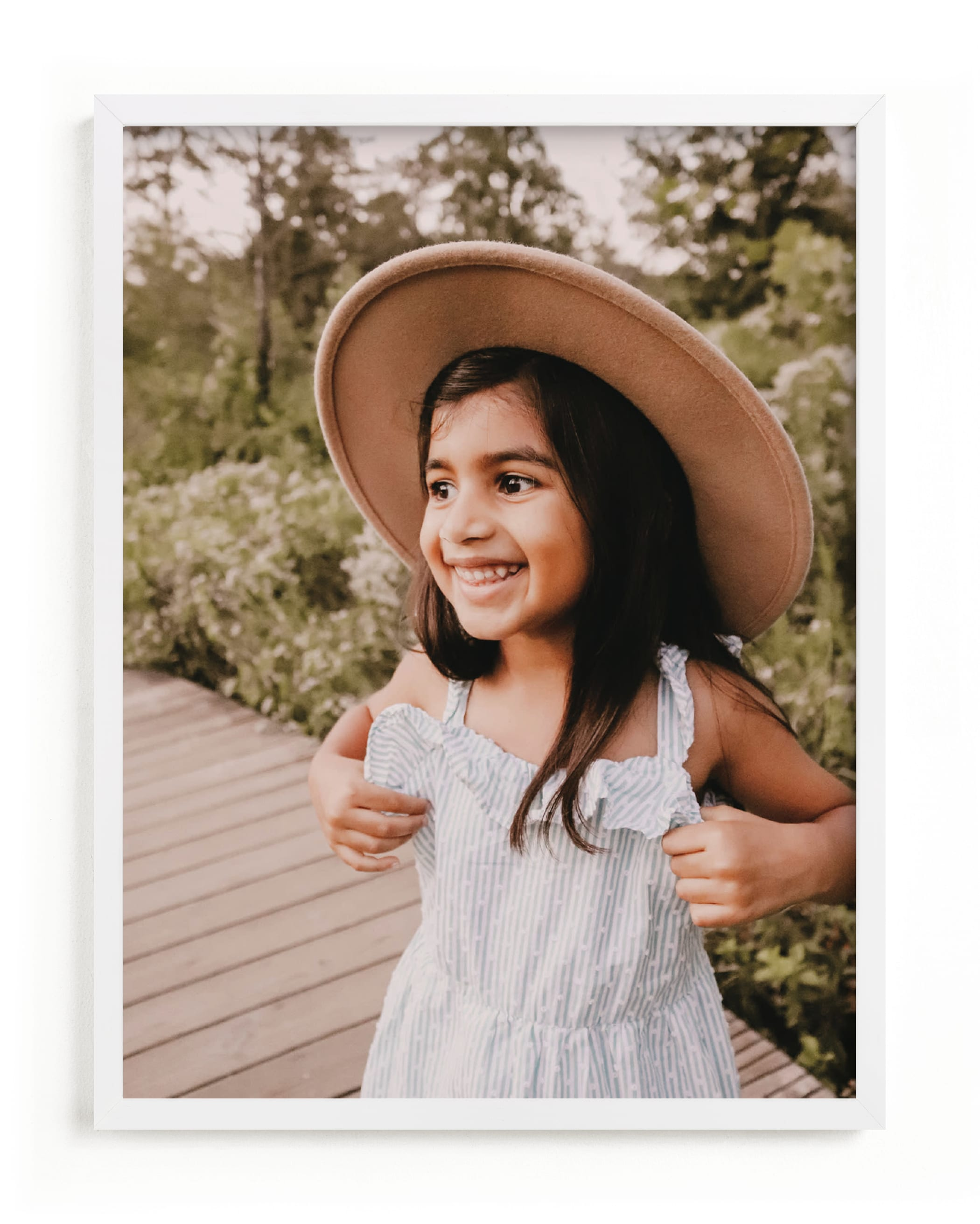 """The Big Picture - Portrait"" - Custom Photo Art Print by Minted Custom in beautiful frame options and a variety of sizes."