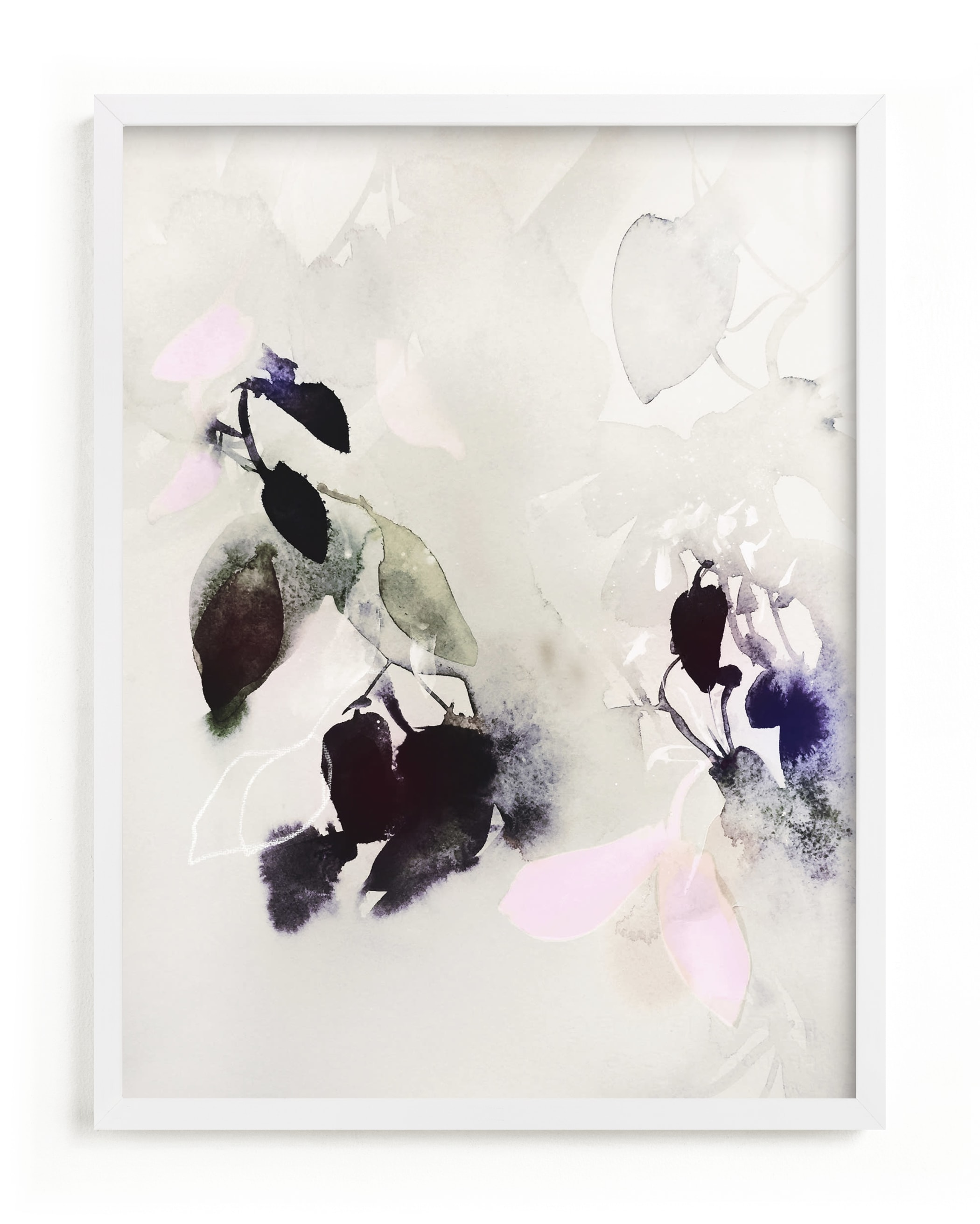 """""""Evening Flora"""" - Limited Edition Art Print by Marta Spendowska in beautiful frame options and a variety of sizes."""