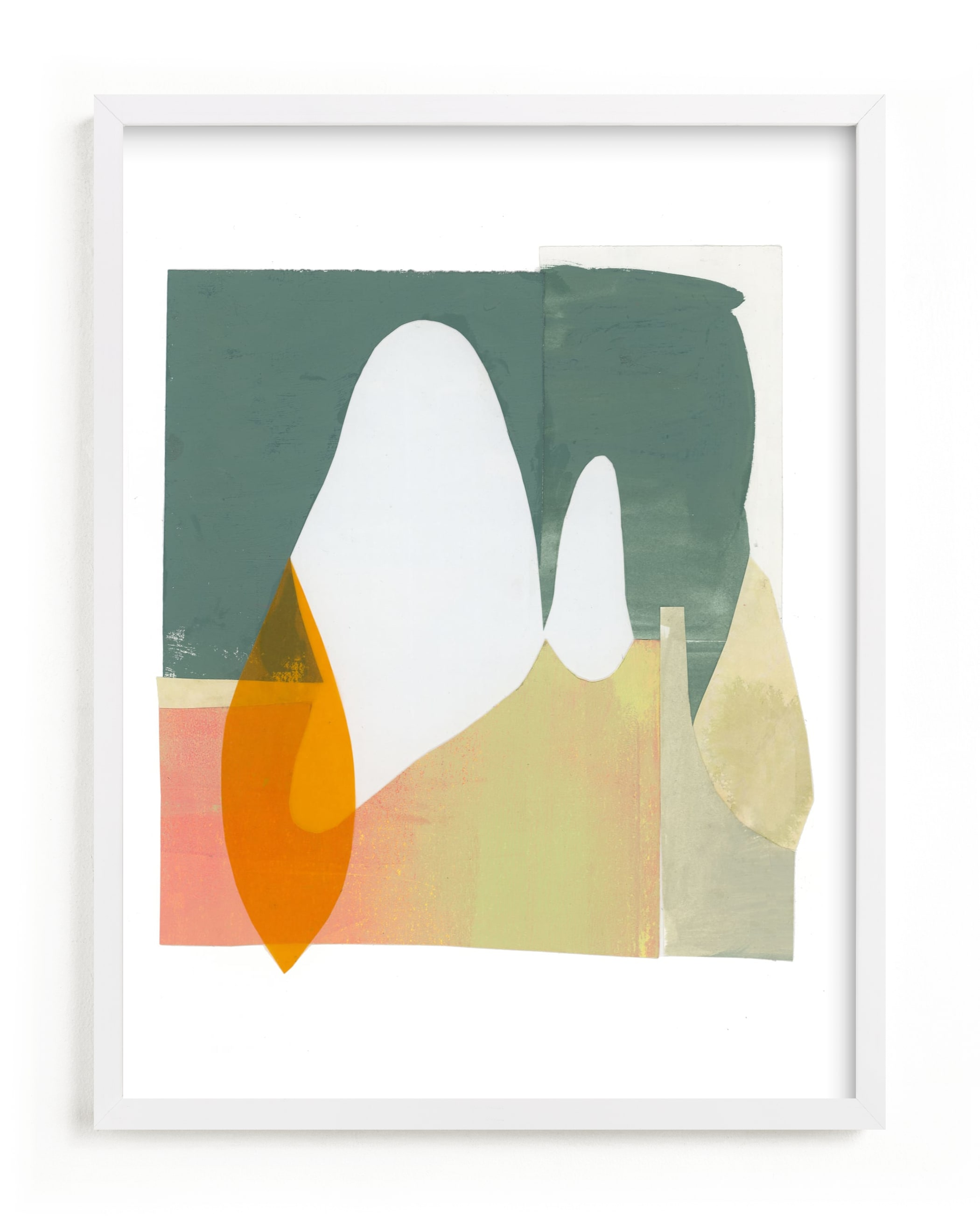 """""""Things unsaid 2"""" - Limited Edition Art Print by Erin McCluskey Wheeler in beautiful frame options and a variety of sizes."""
