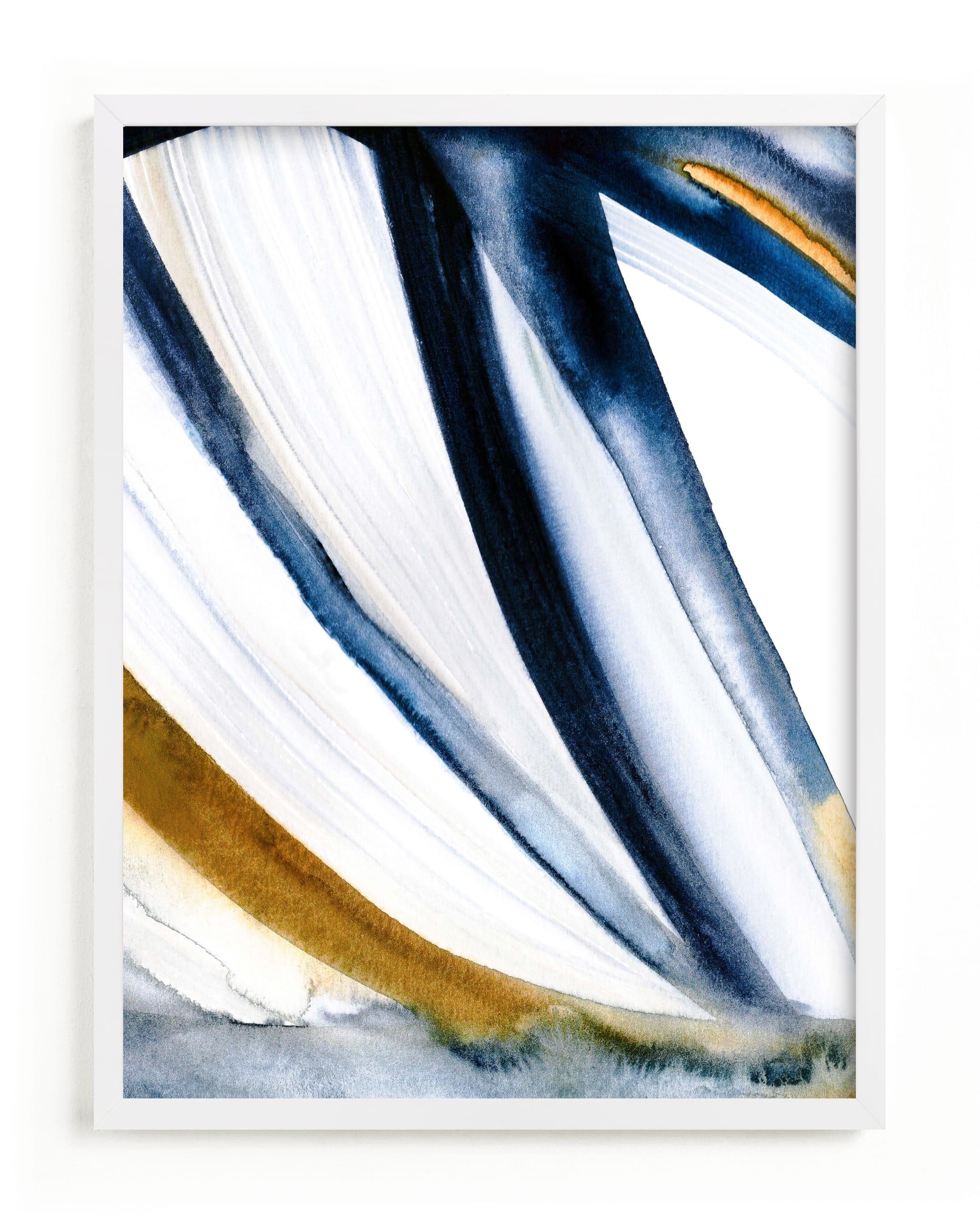 Modern Stripes Art Print