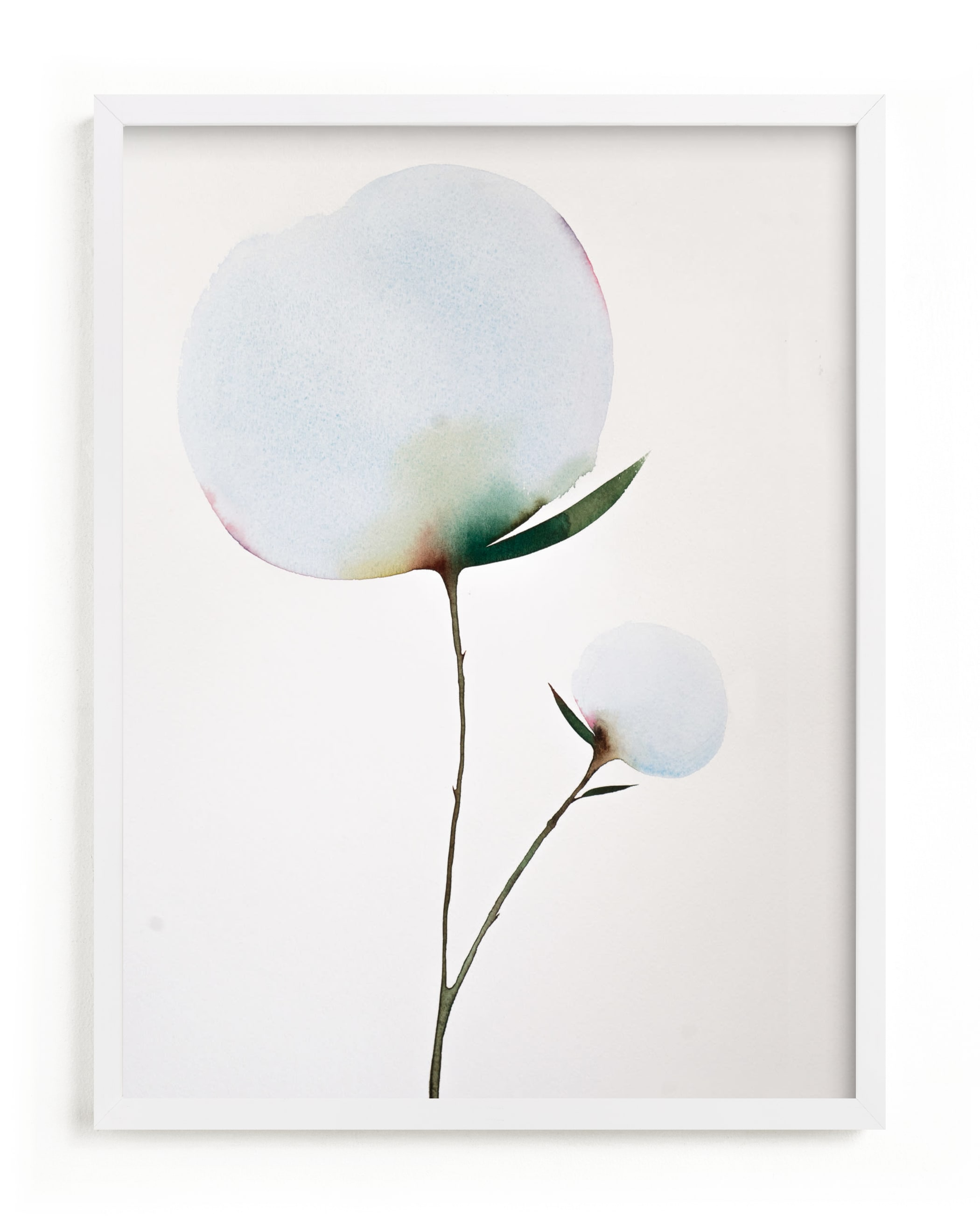 """""""Paran Bloom 01"""" - Limited Edition Art Print by jinseikou in beautiful frame options and a variety of sizes."""