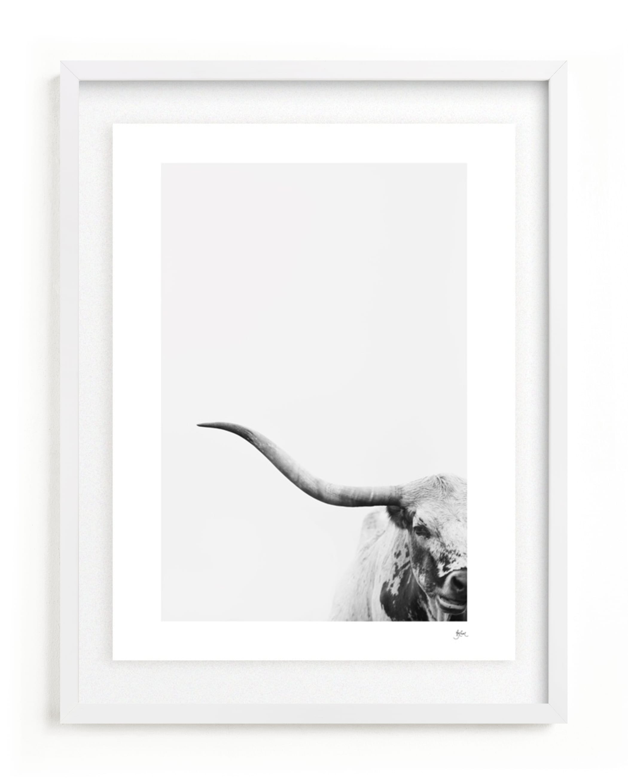 """""""Brandir"""" - Limited Edition Art Print by Amy Carroll in beautiful frame options and a variety of sizes."""