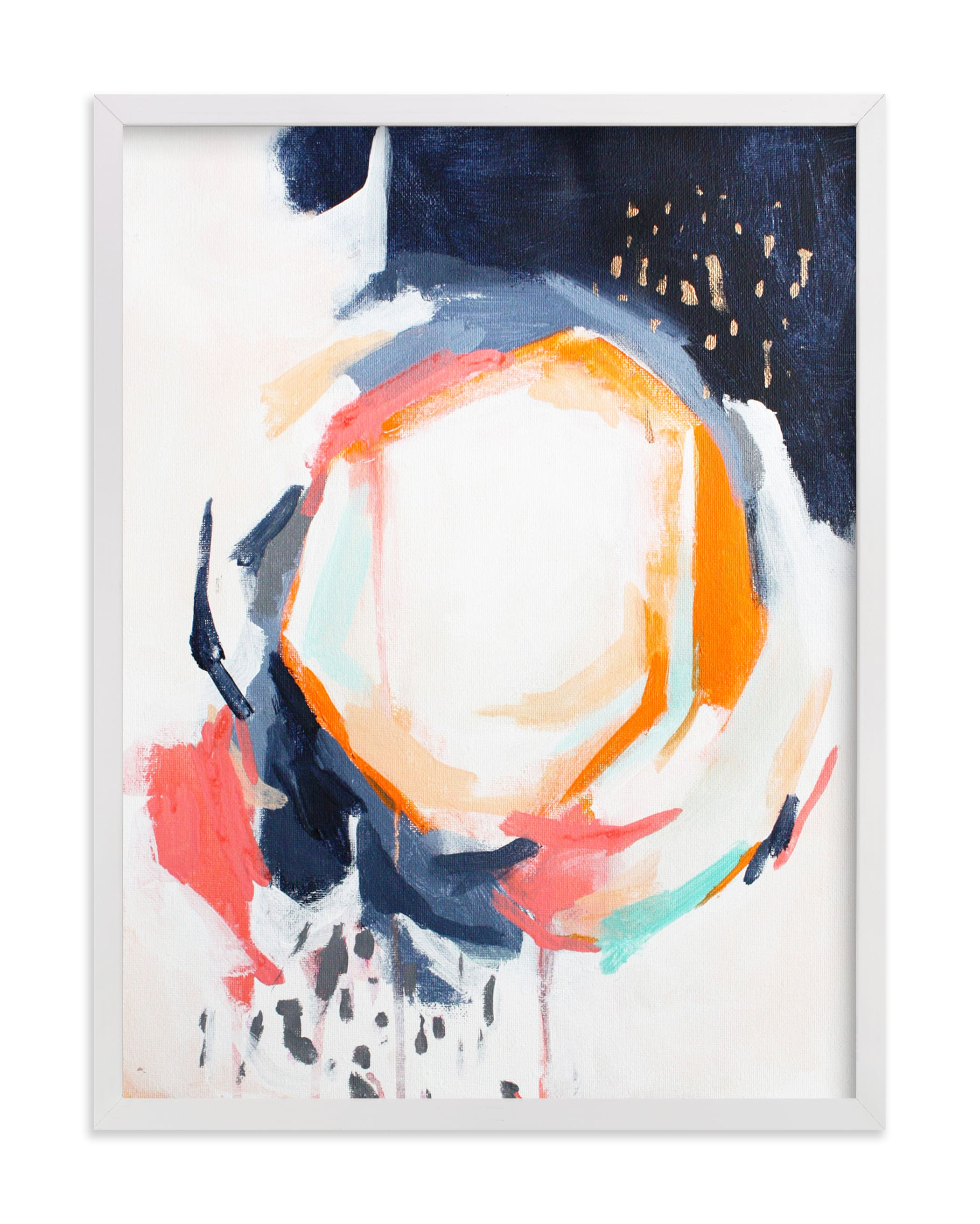 """""""Light in dark"""" - Limited Edition Art Print by Jihye Back Kim in beautiful frame options and a variety of sizes."""