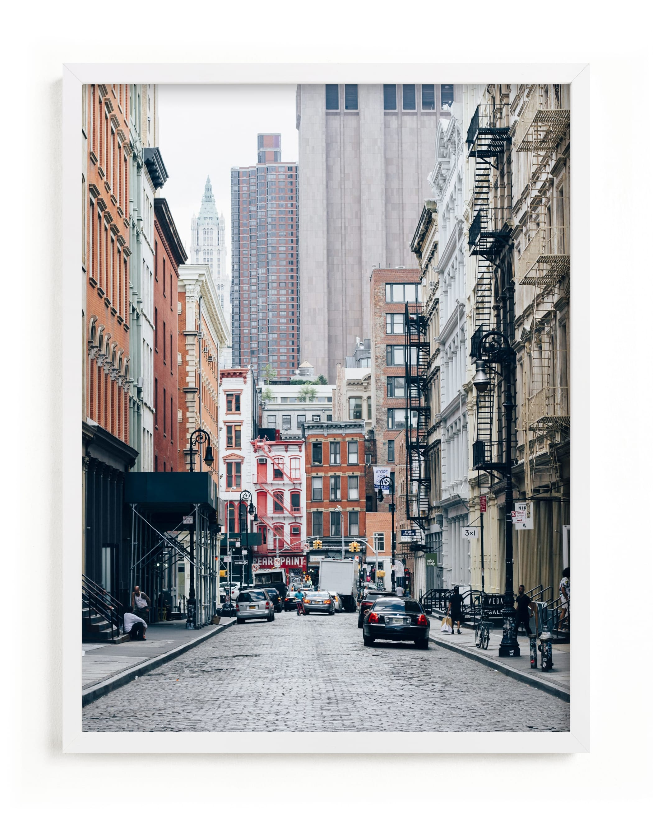 """""""SoHo"""" - Limited Edition Art Print by Kaitlin Rebesco in beautiful frame options and a variety of sizes."""