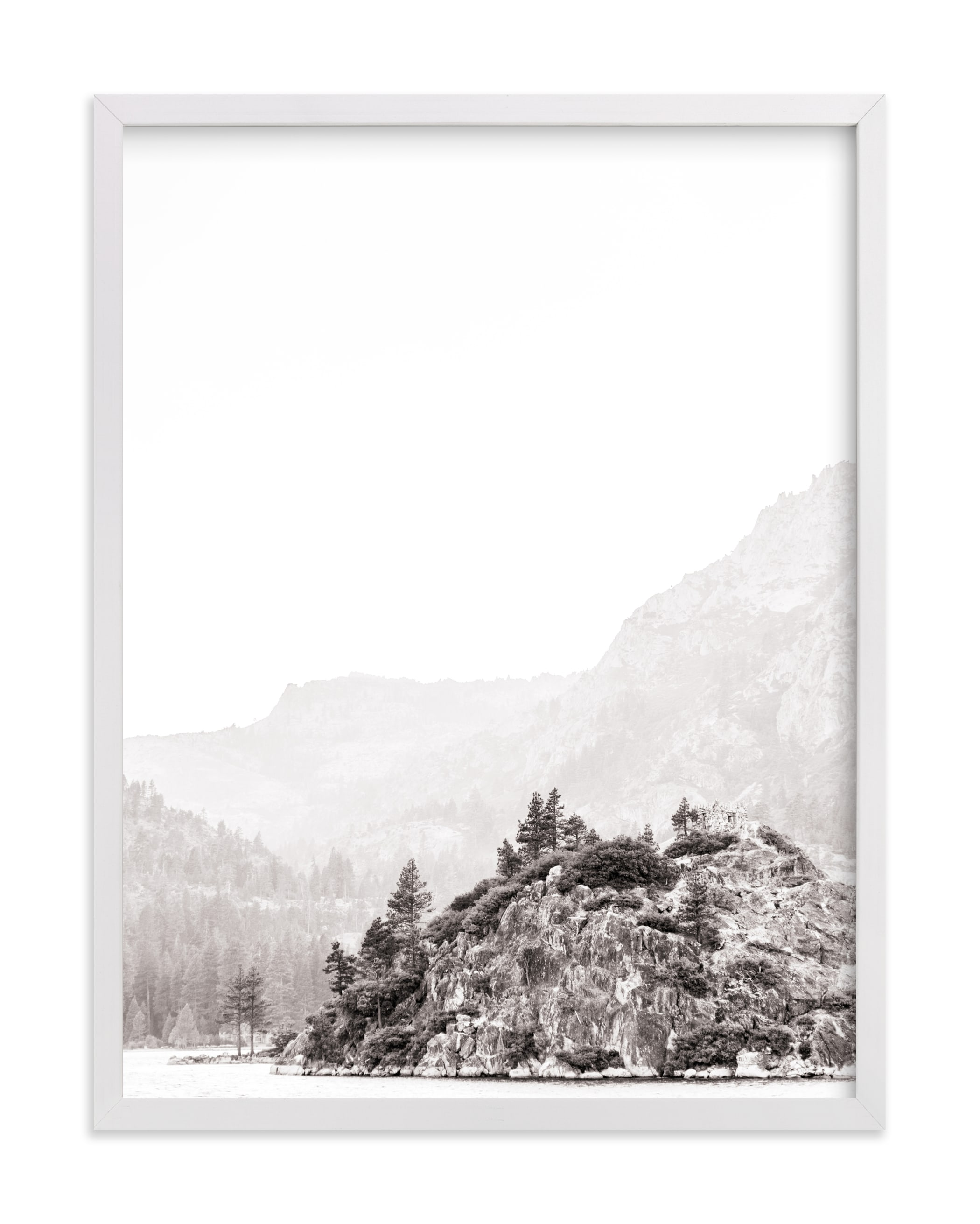 """Little Island"" - Limited Edition Art Print by Jamie Lollback in beautiful frame options and a variety of sizes."