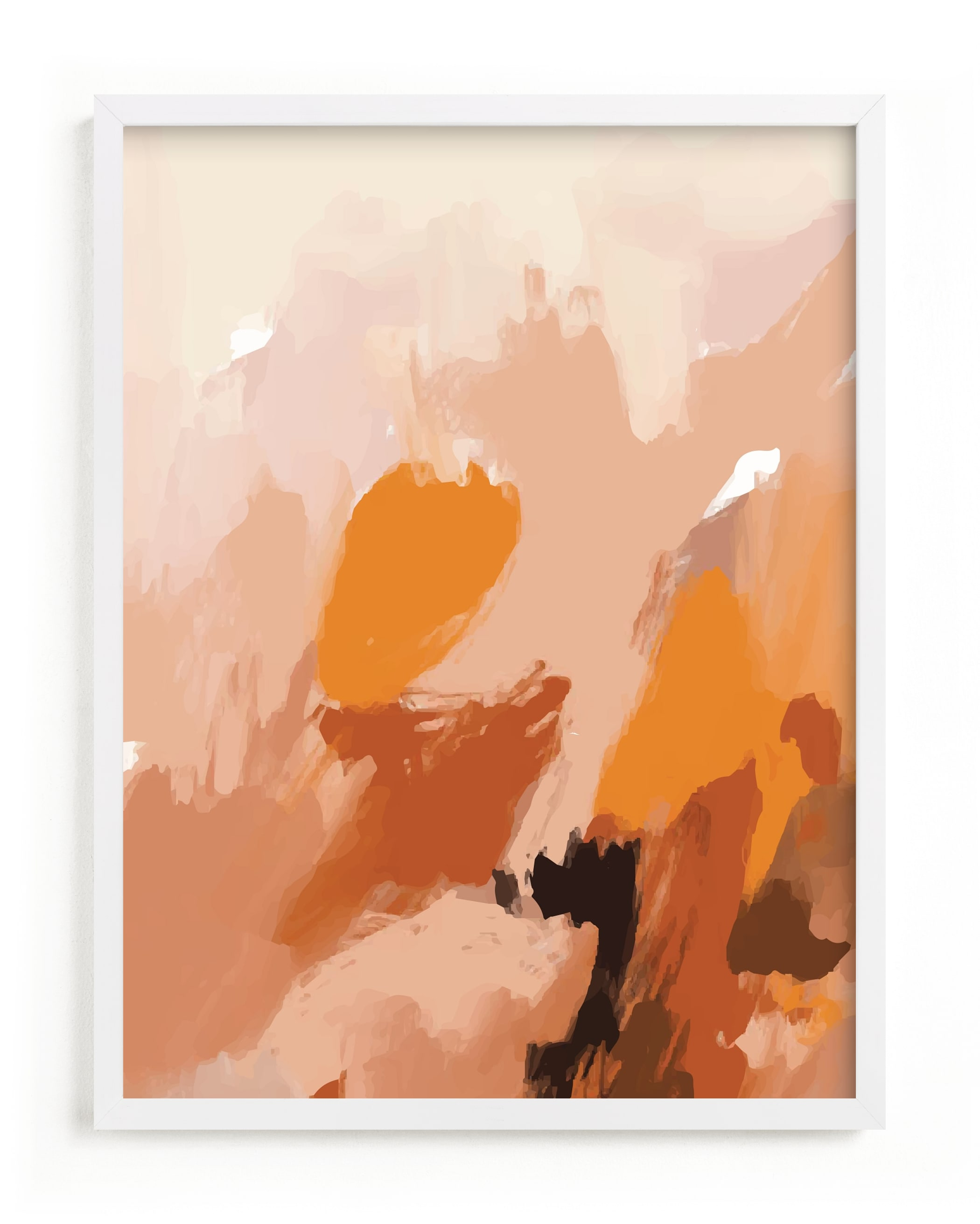 Soft Earths Art Print