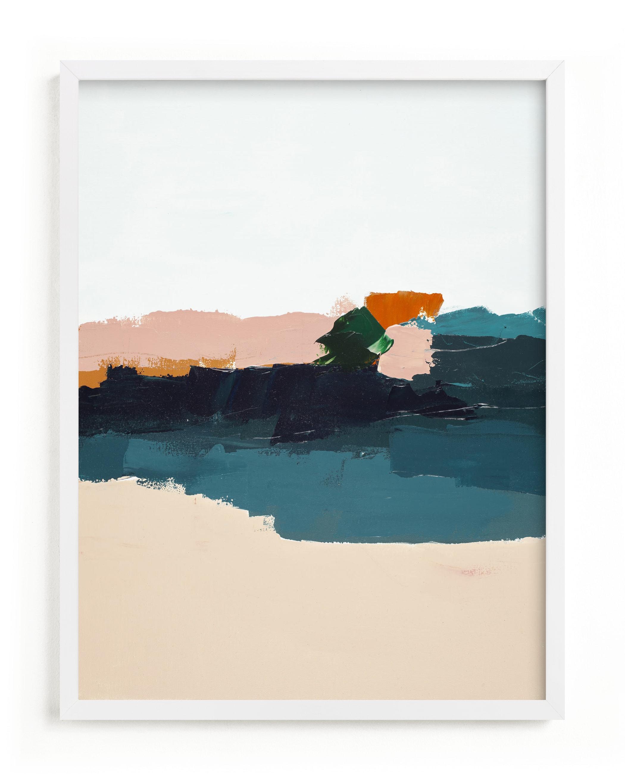 Malibu Seascape Art Print