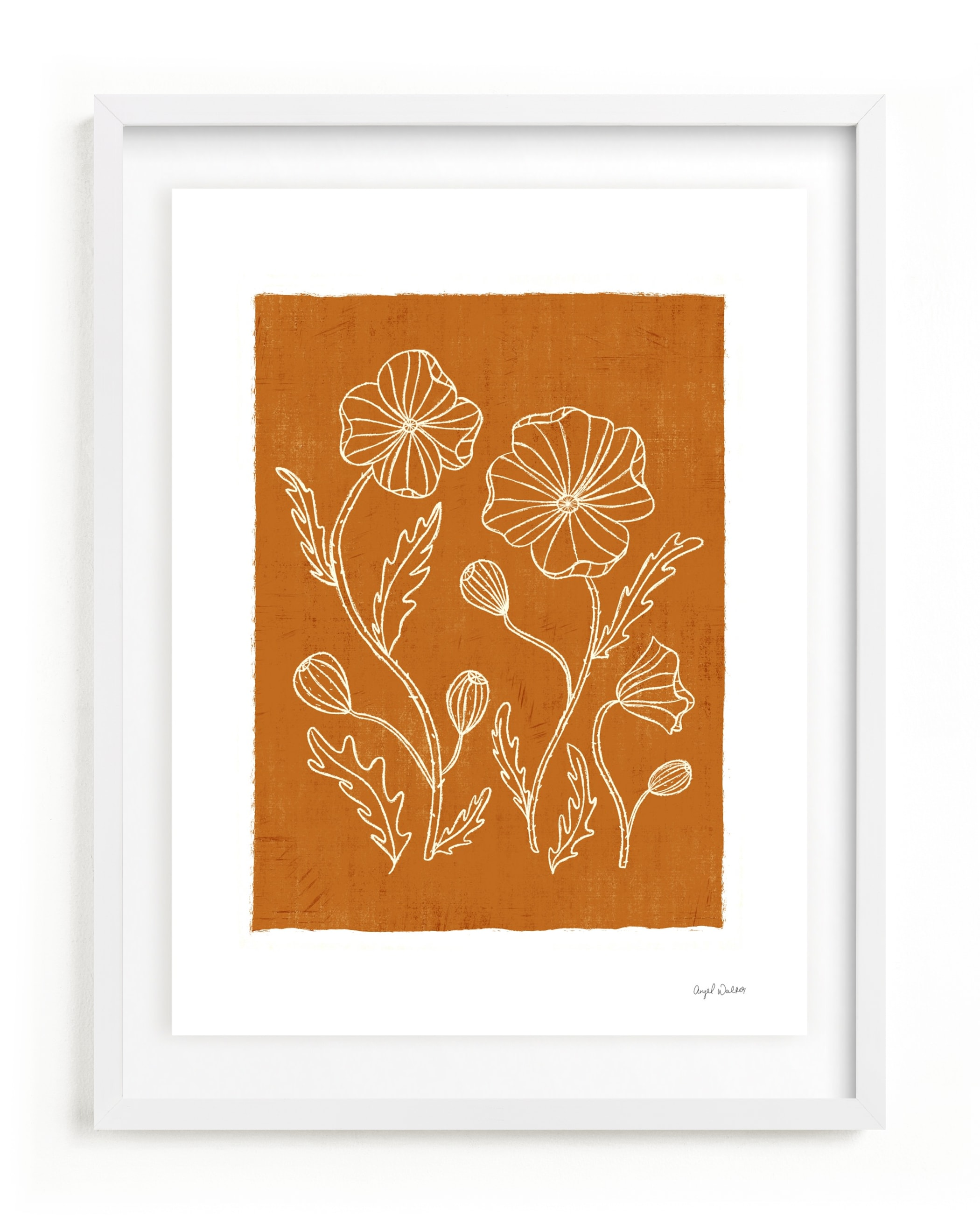 Poppy Joy Art Print