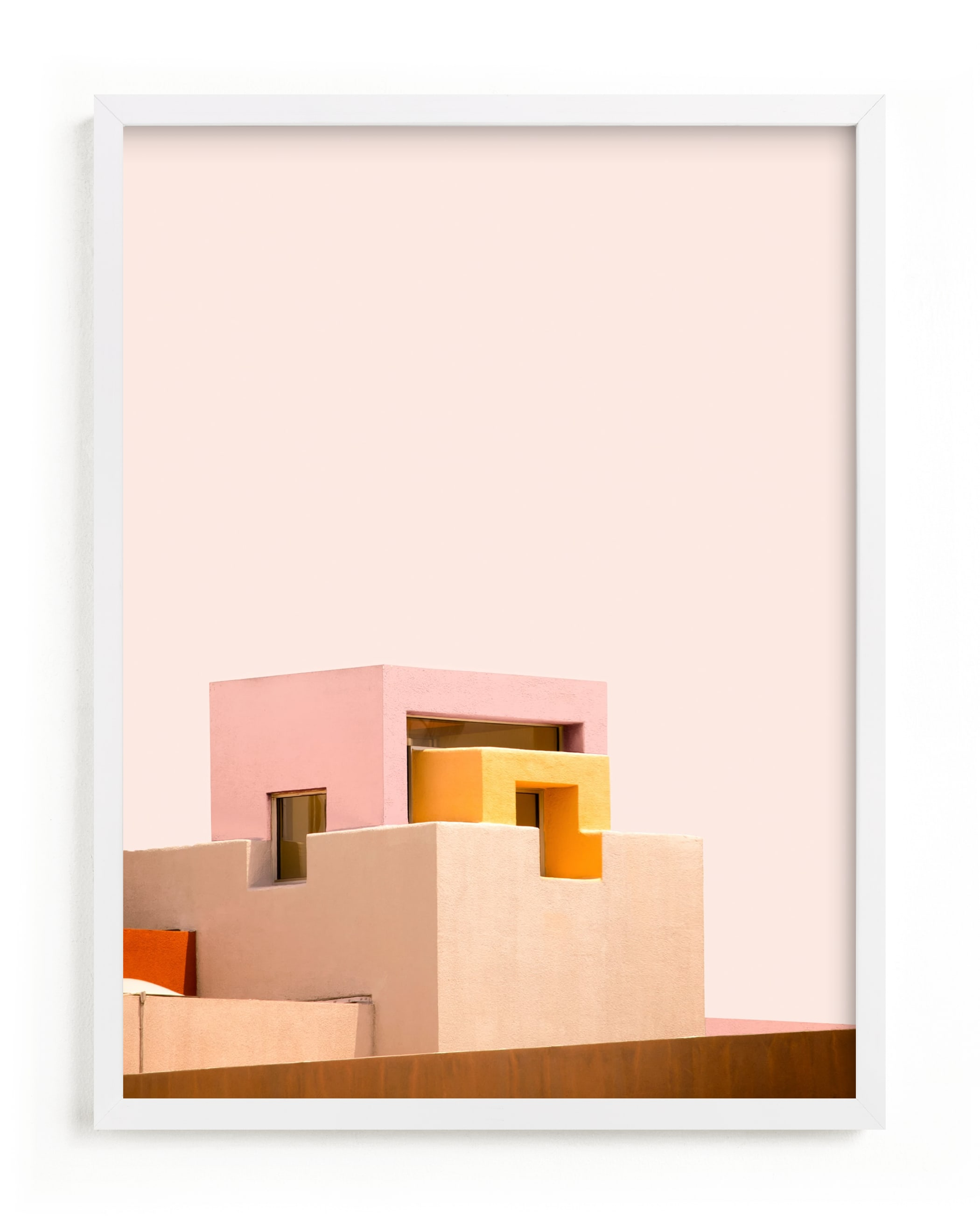 """""""Urban Desert Series 3"""" - Limited Edition Art Print by Lisa Sundin in beautiful frame options and a variety of sizes."""