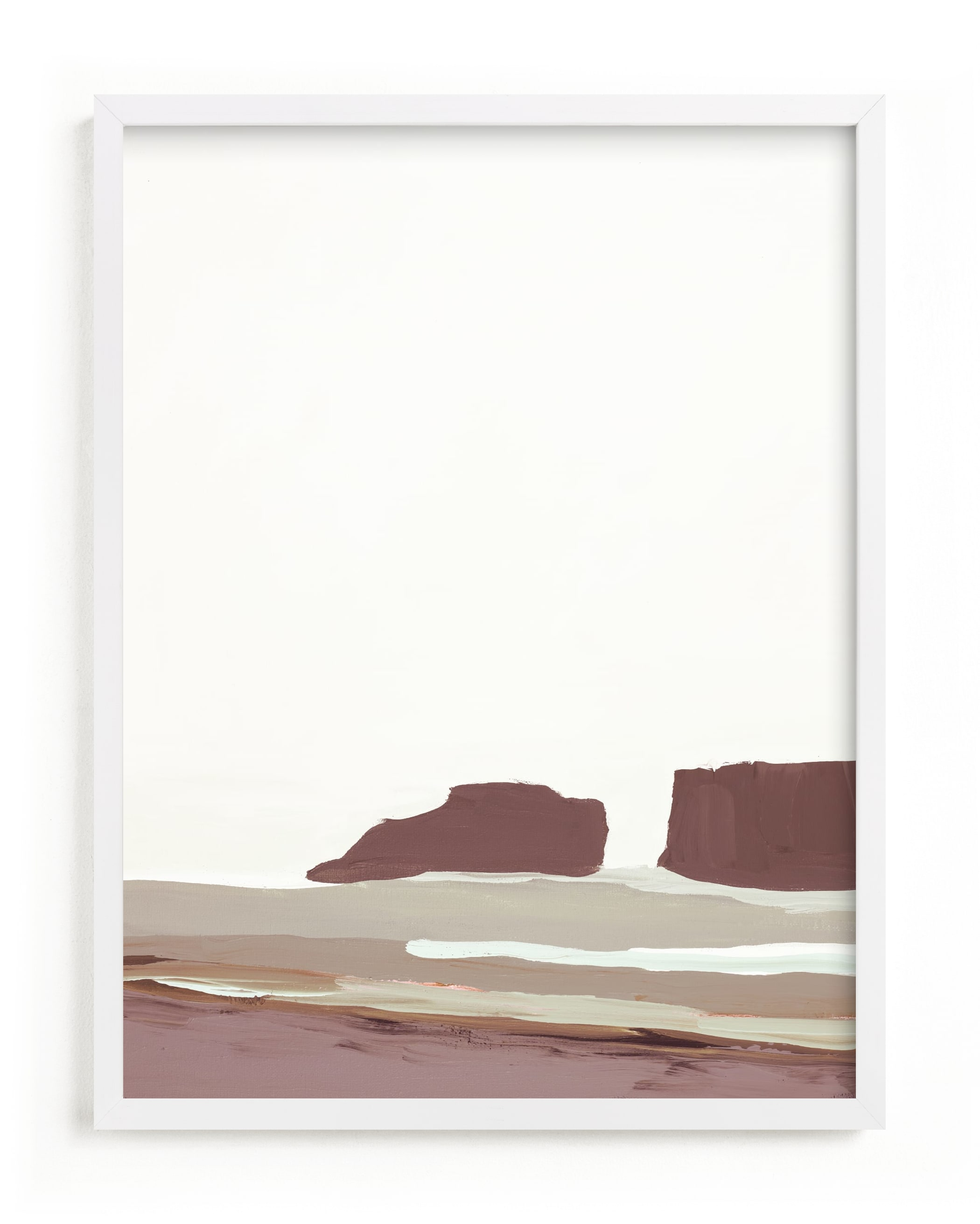 This is a ivory art by Caryn Owen called Abstract Pacific Seascape Diptych 1.