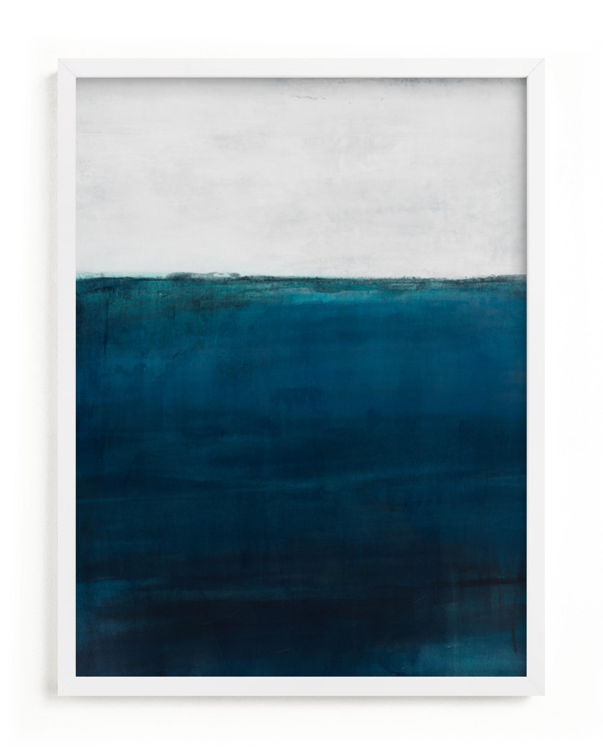 Below the Sea Art Print