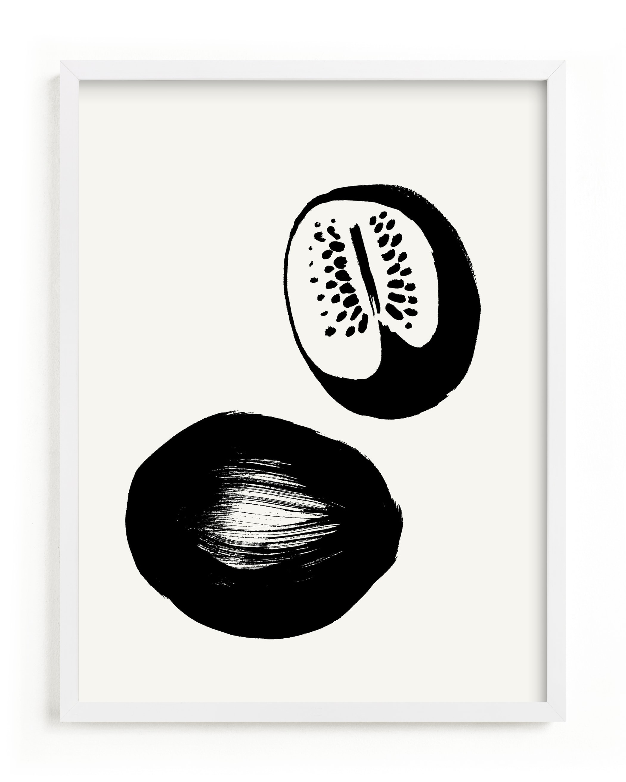 """""""Watermelons"""" - Limited Edition Art Print by Sonya Percival in beautiful frame options and a variety of sizes."""