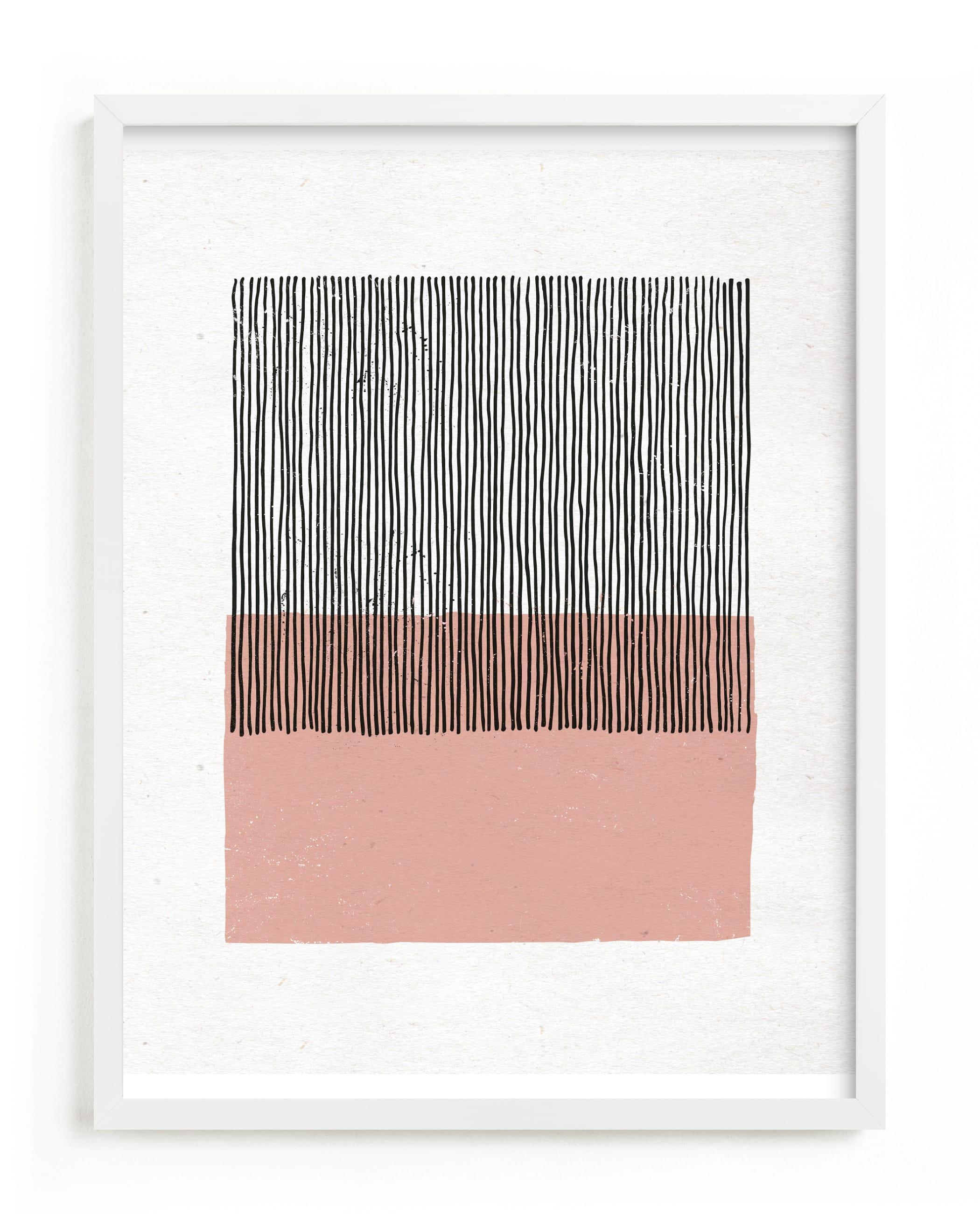 Color Streak Art Print