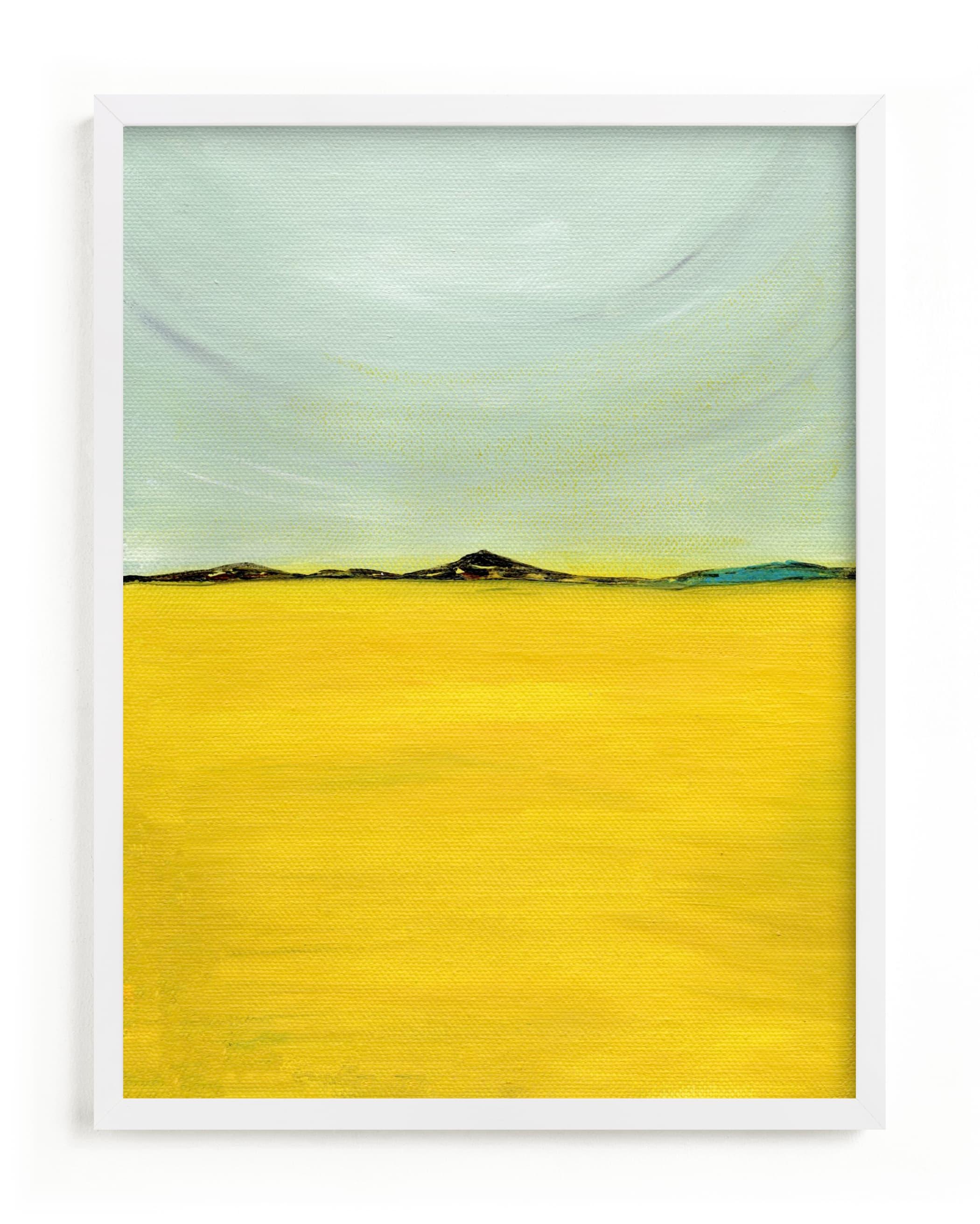 Tuscany meadow Art Print