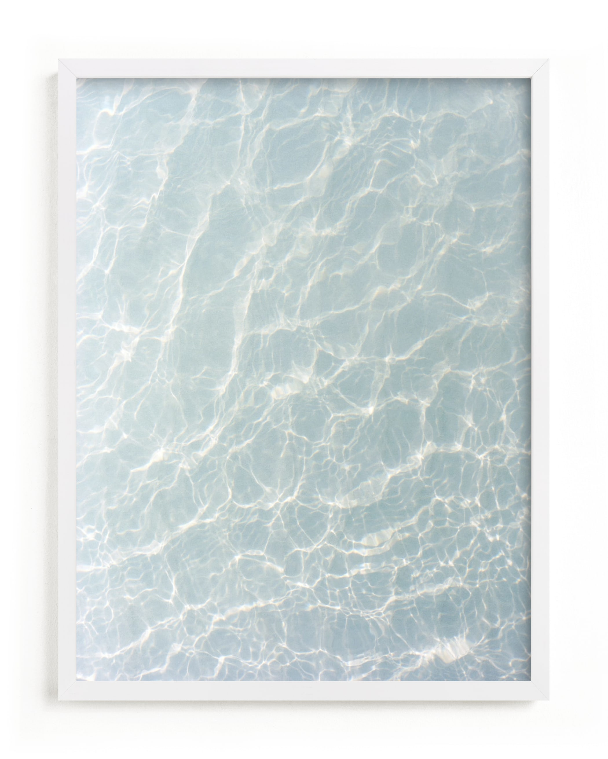 Wave Patterns Art Print